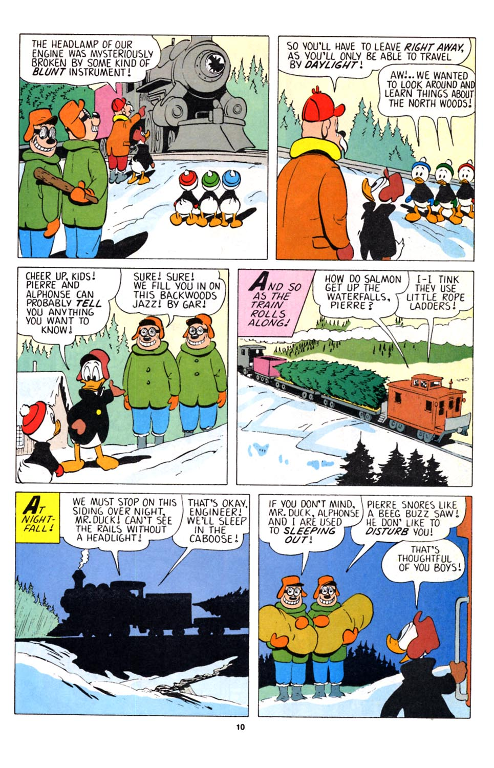Uncle Scrooge (1953) Issue #251 #251 - English 11