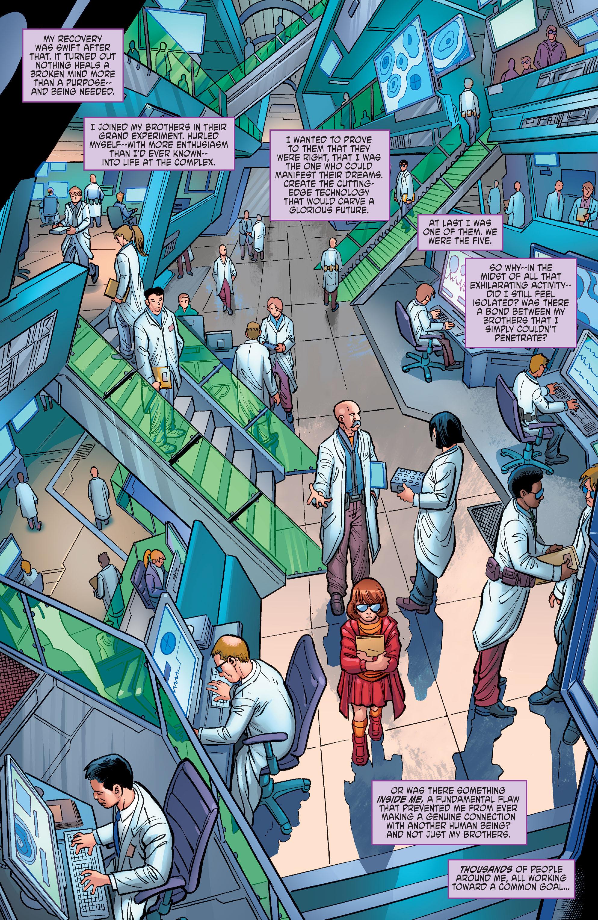 Read online Scooby Apocalypse comic -  Issue #6 - 16