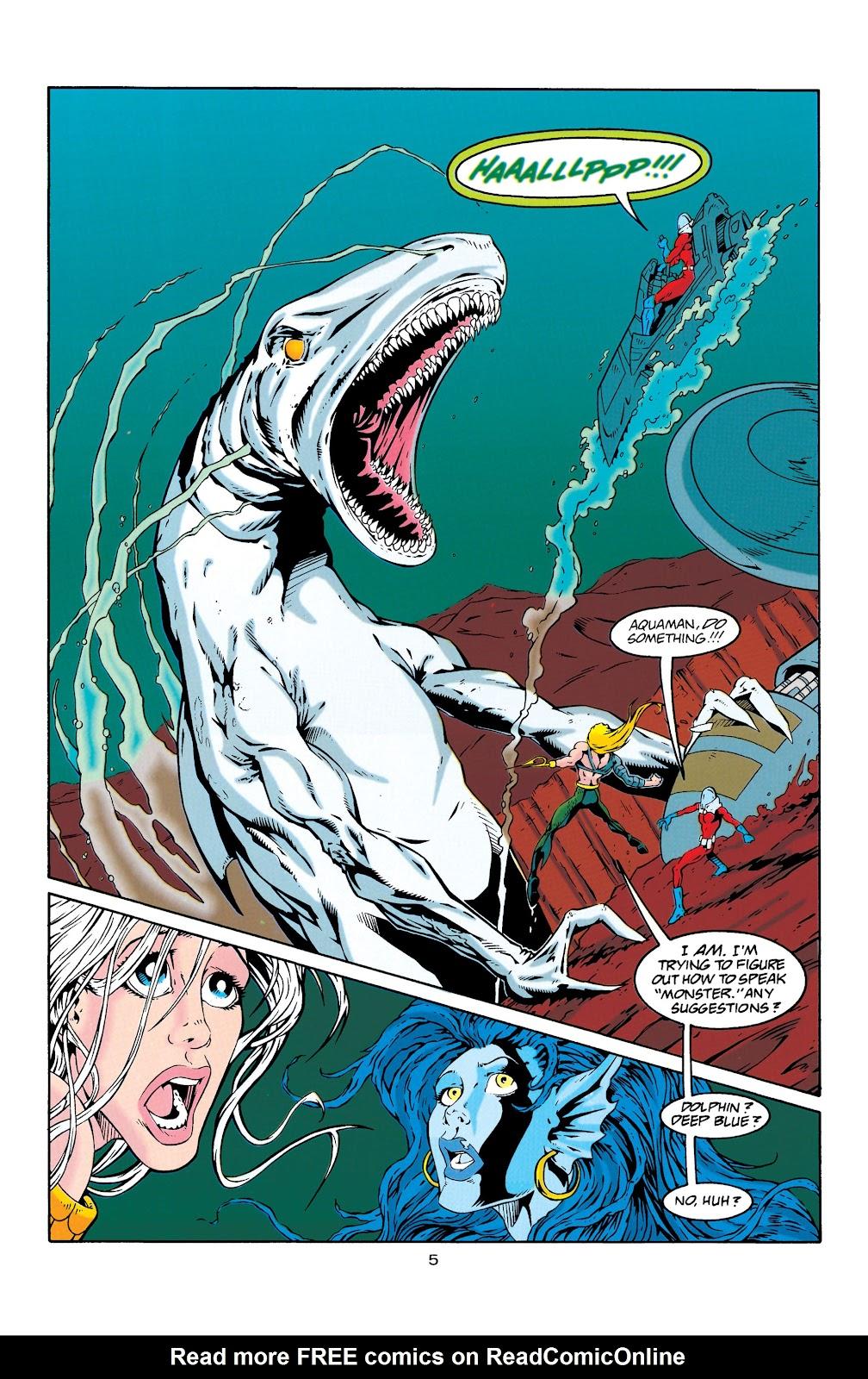 Aquaman (1994) Issue #29 #35 - English 5