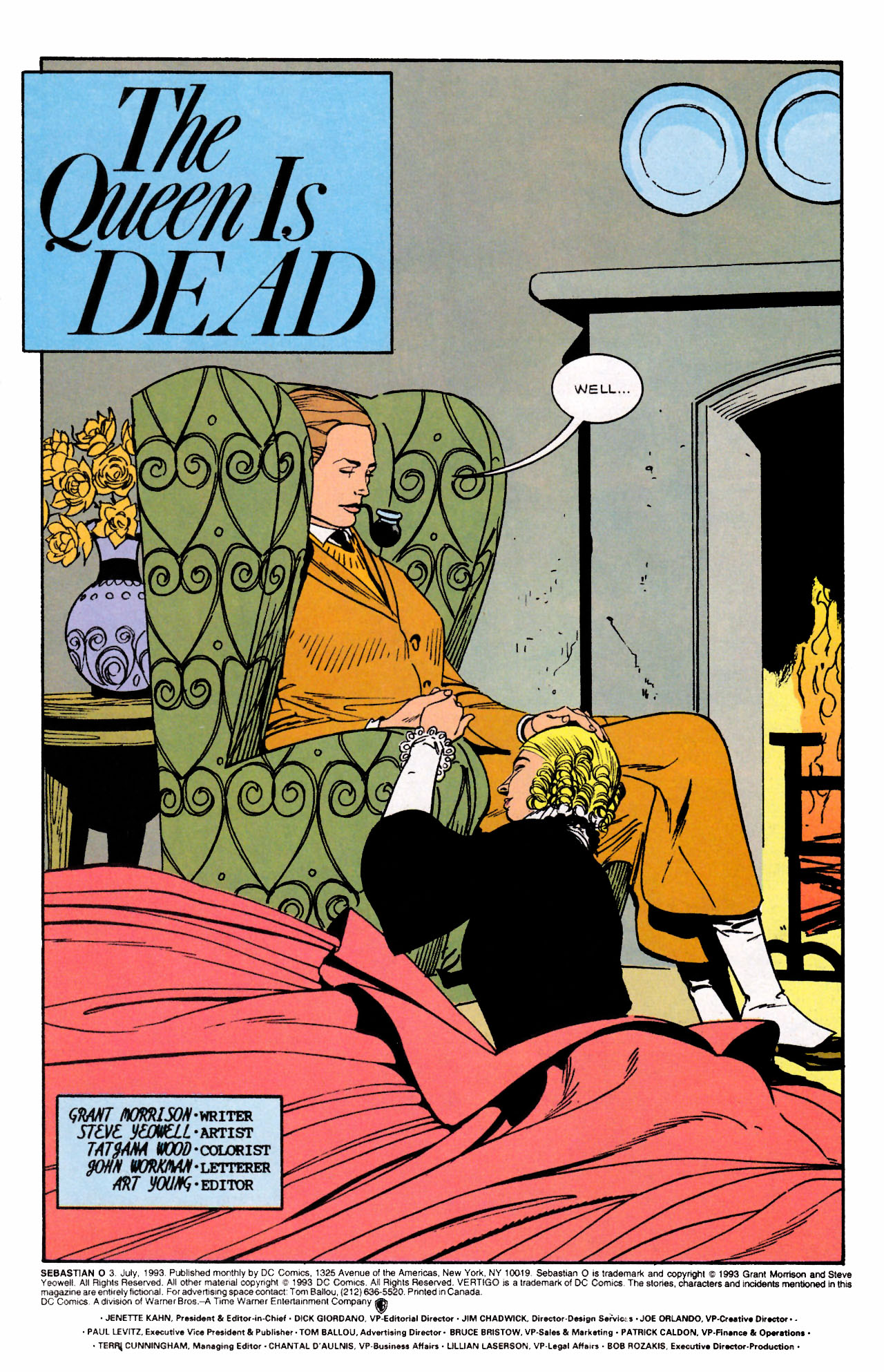 Read online Sebastian O comic -  Issue #3 - 3