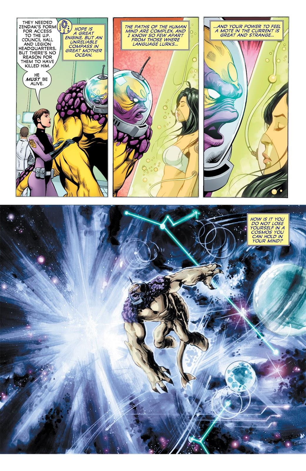 Legion of Super-Heroes (2010) Issue #9 #10 - English 14