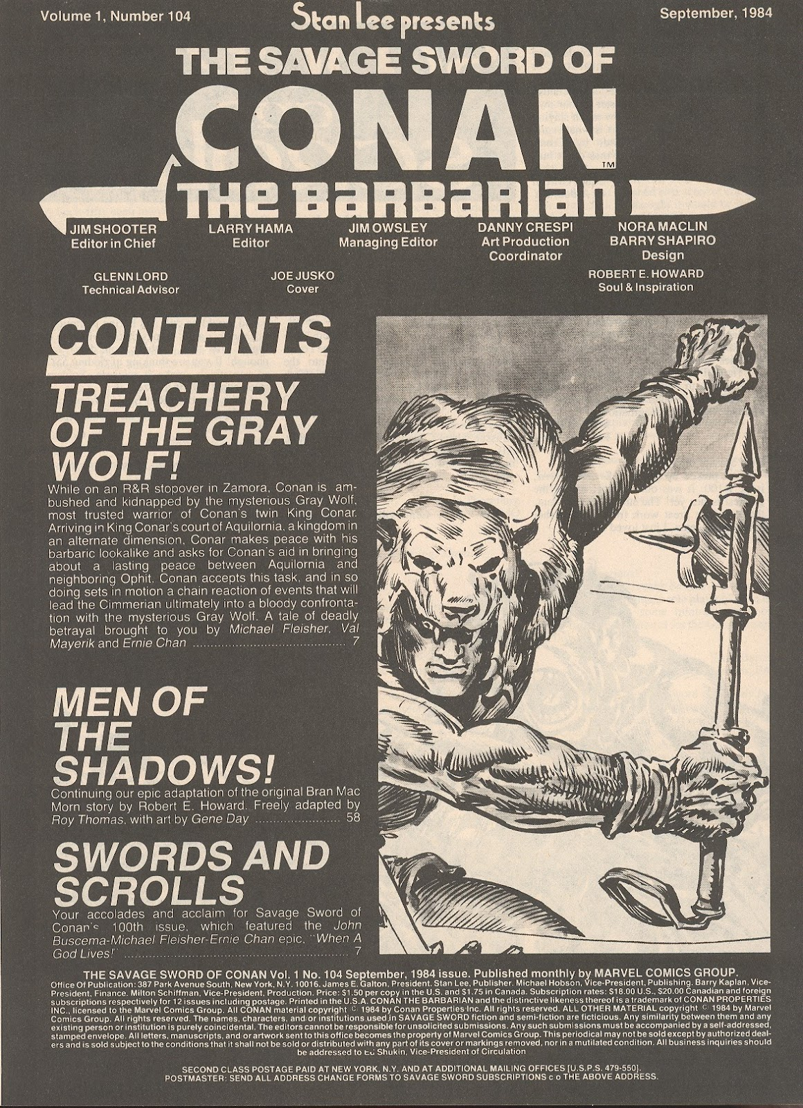 The Savage Sword Of Conan Issue #104 #105 - English 3