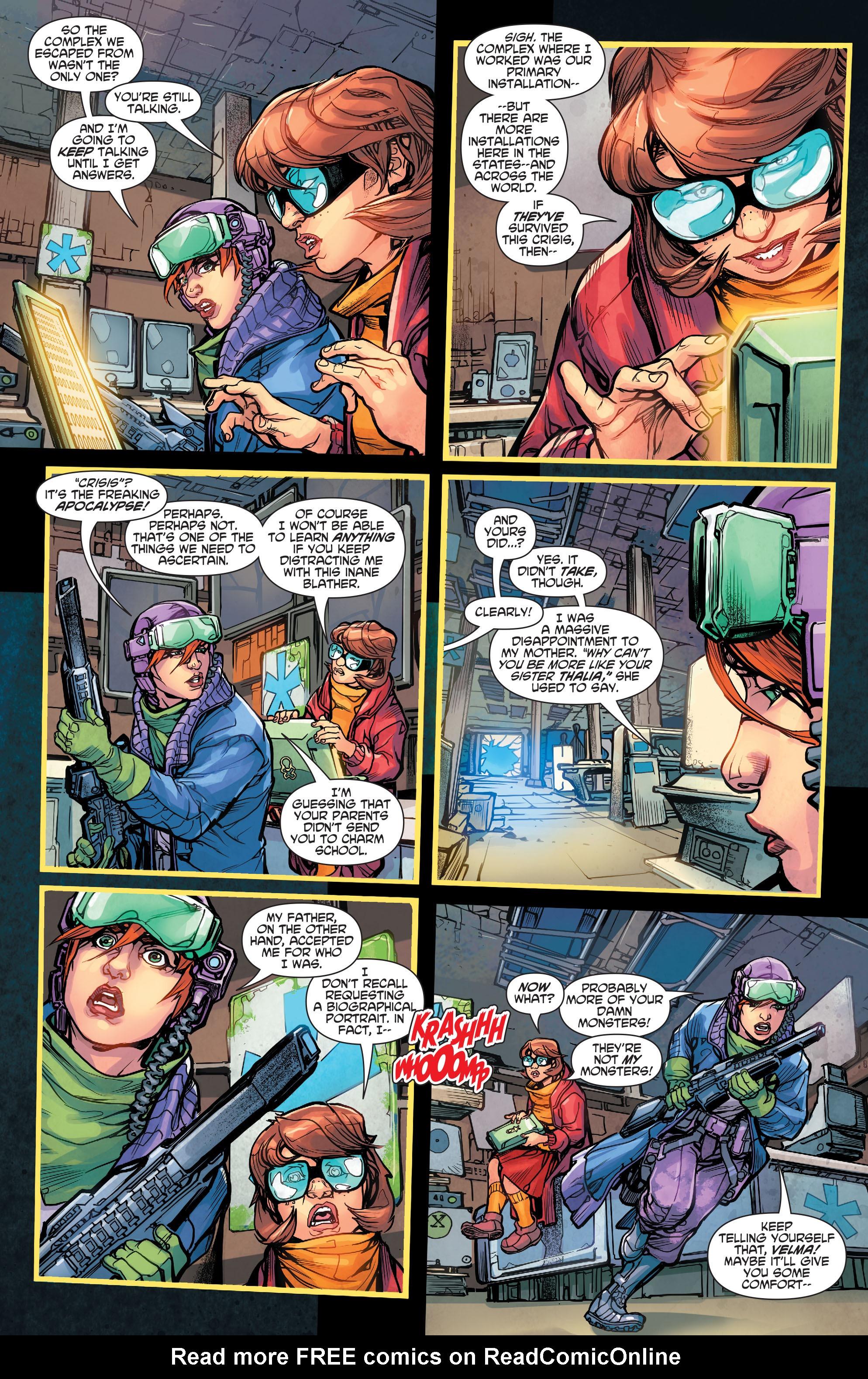 Read online Scooby Apocalypse comic -  Issue #5 - 5