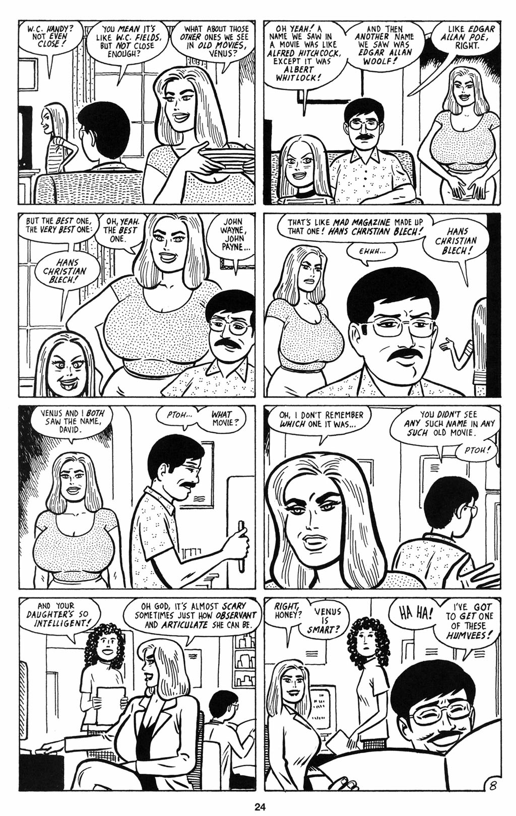 Read online Love and Rockets (2001) comic -  Issue #12 - 25