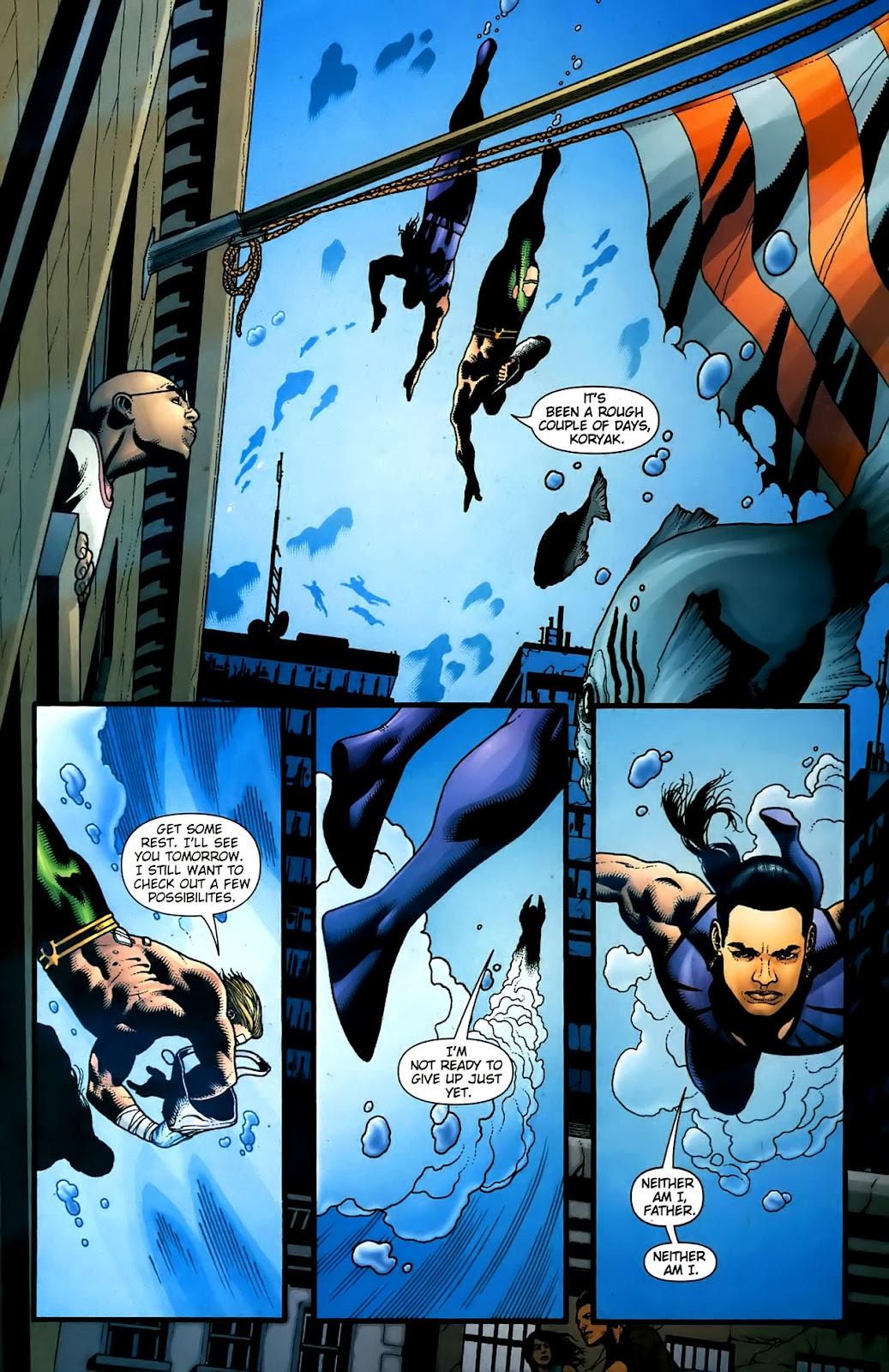 Aquaman (2003) Issue #36 #36 - English 16