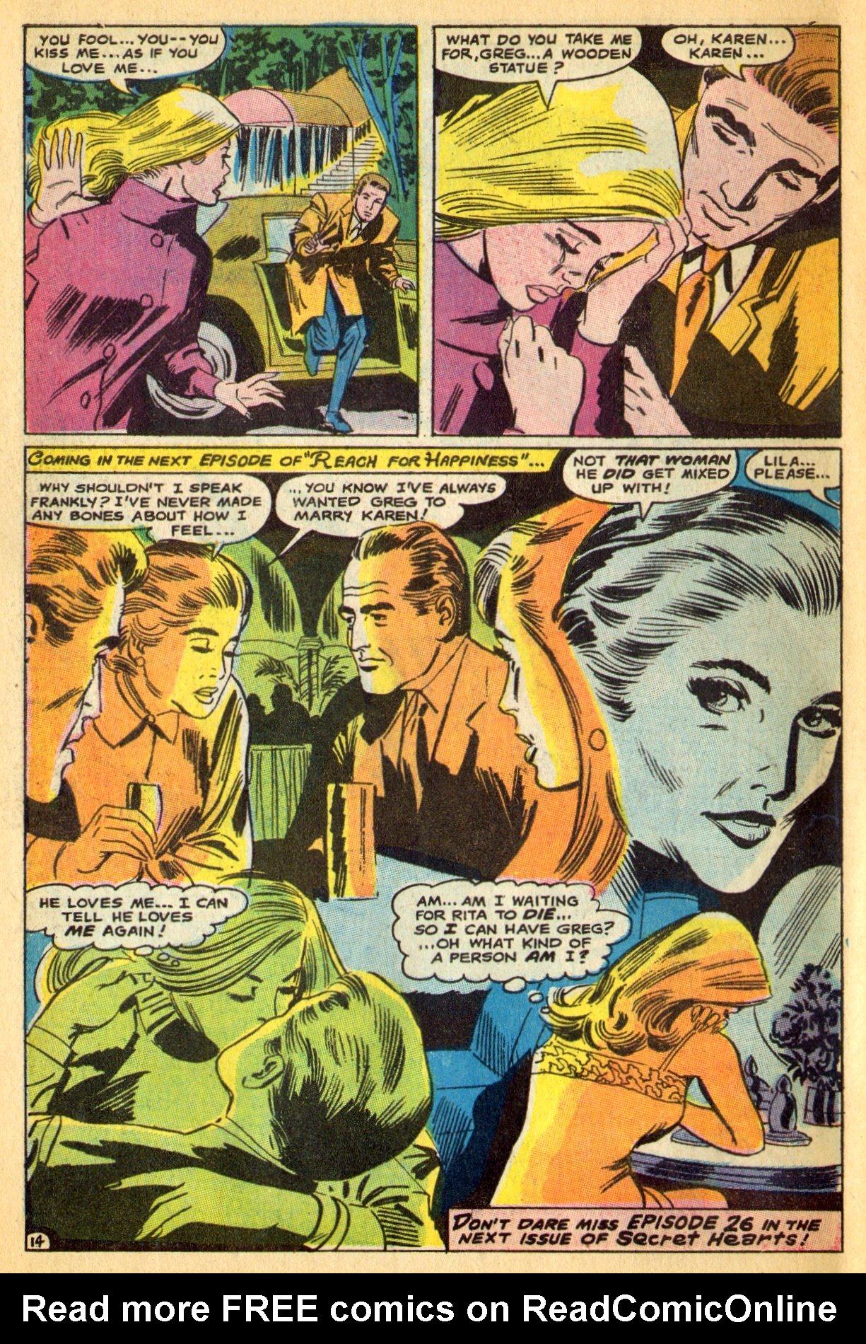 Read online Secret Hearts comic -  Issue #134 - 34