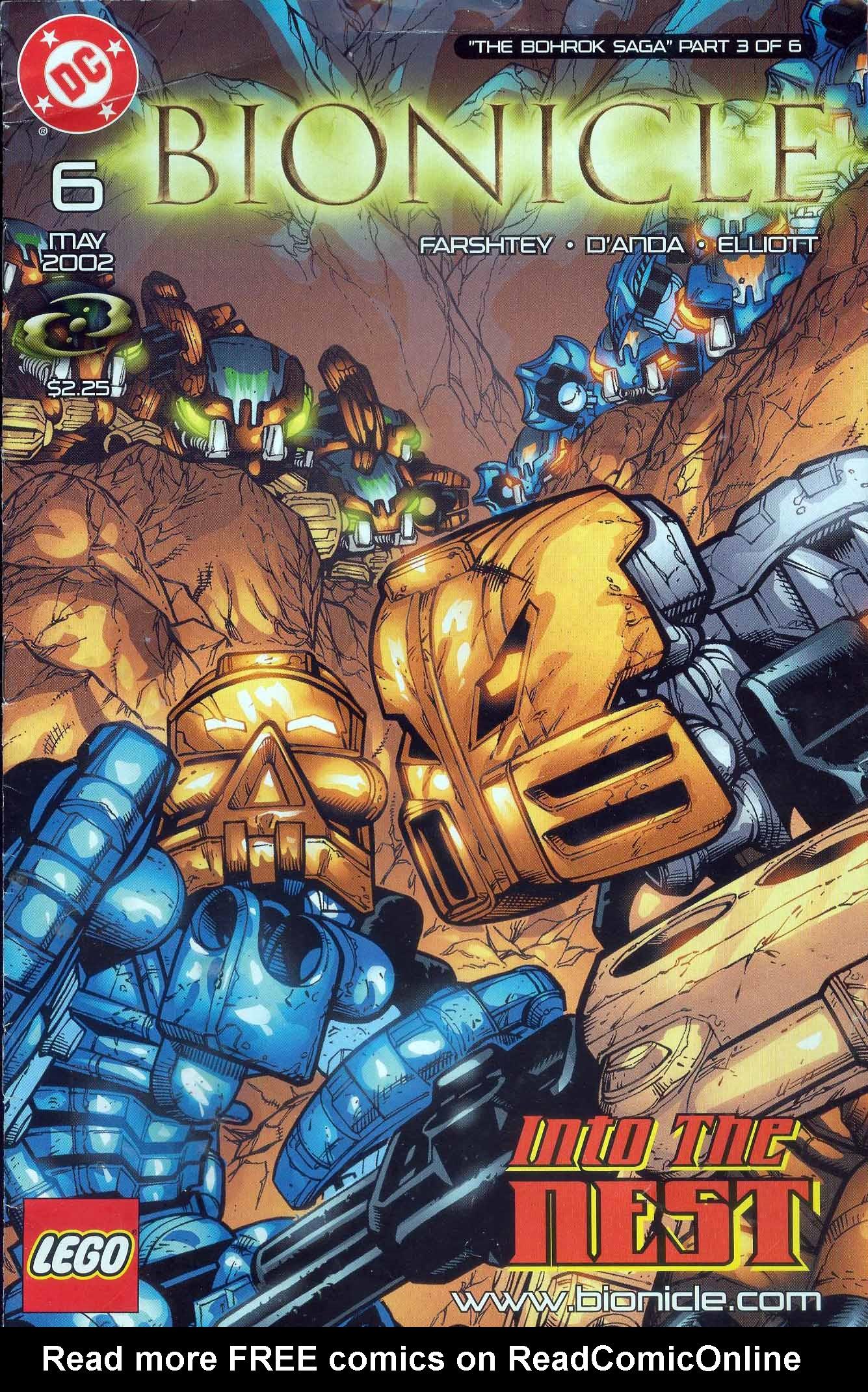 Bionicle 6 Page 1