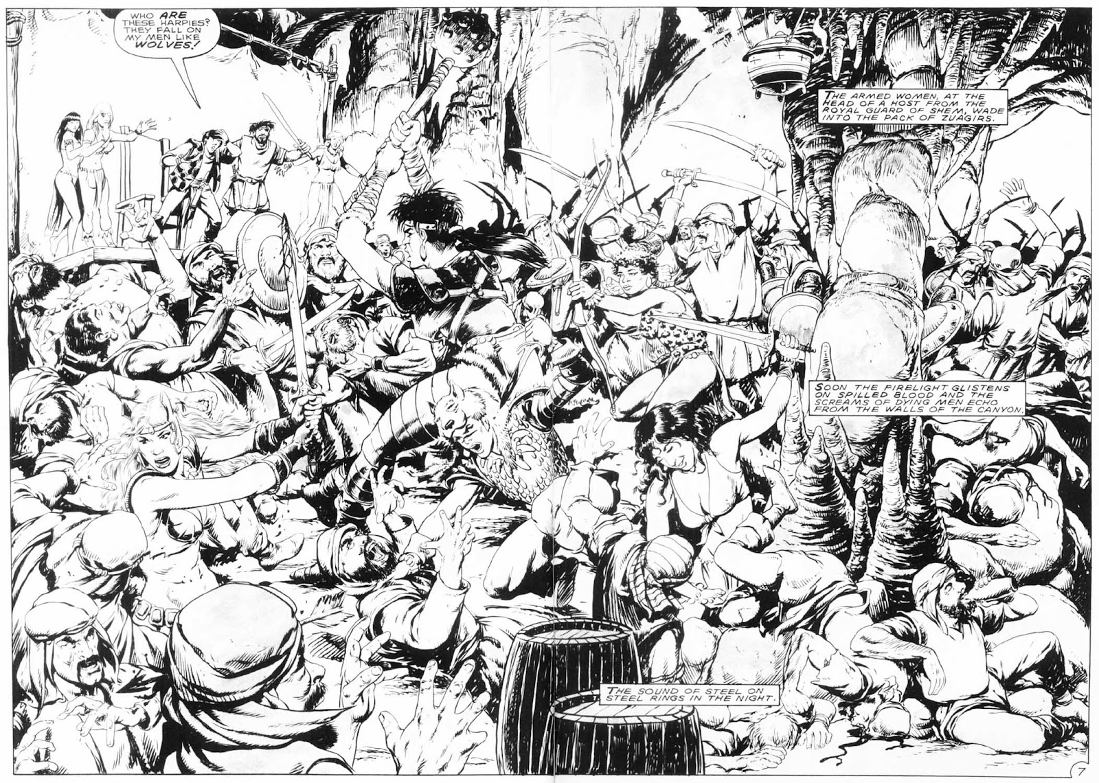 The Savage Sword Of Conan Issue #154 #155 - English 10