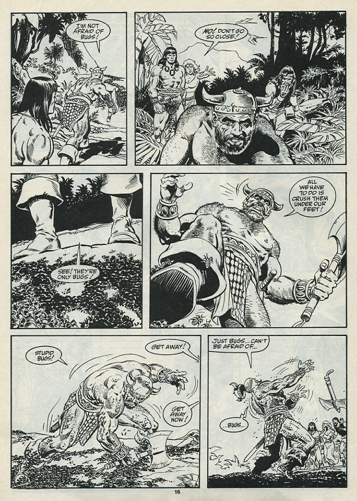 The Savage Sword Of Conan Issue #182 #183 - English 18