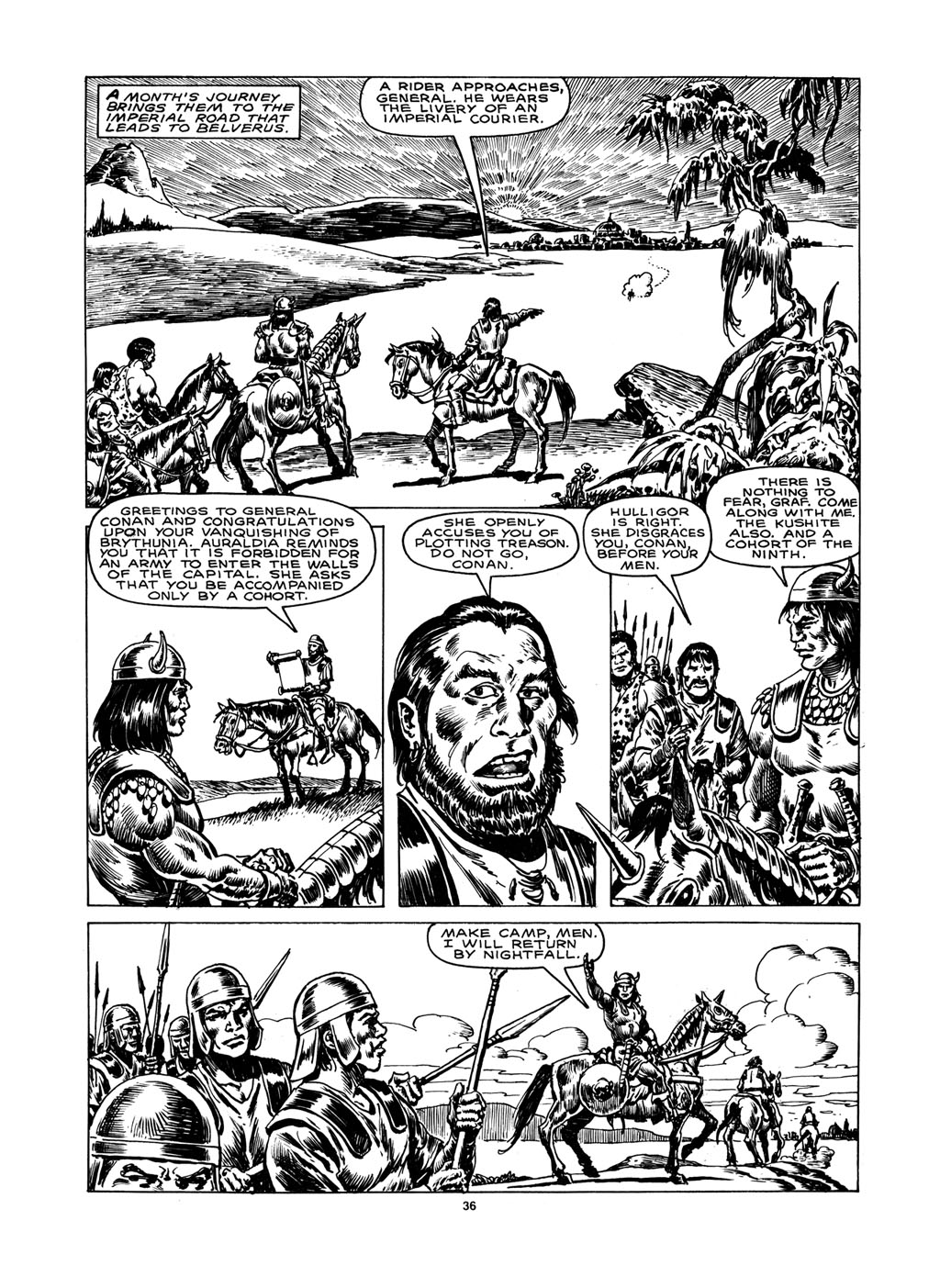 The Savage Sword Of Conan Issue #148 #149 - English 34