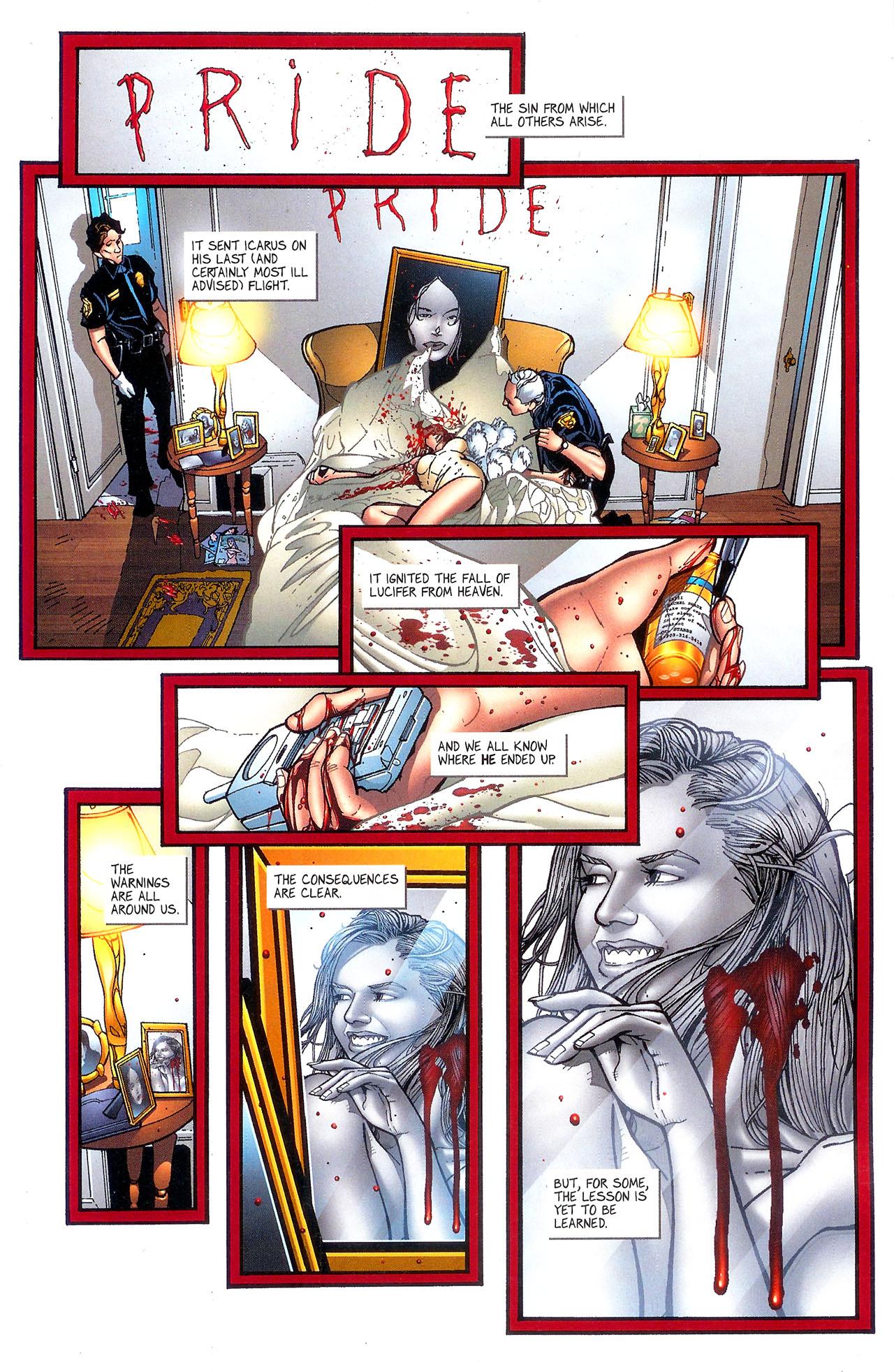Read online Se7en comic -  Issue #5 - 4