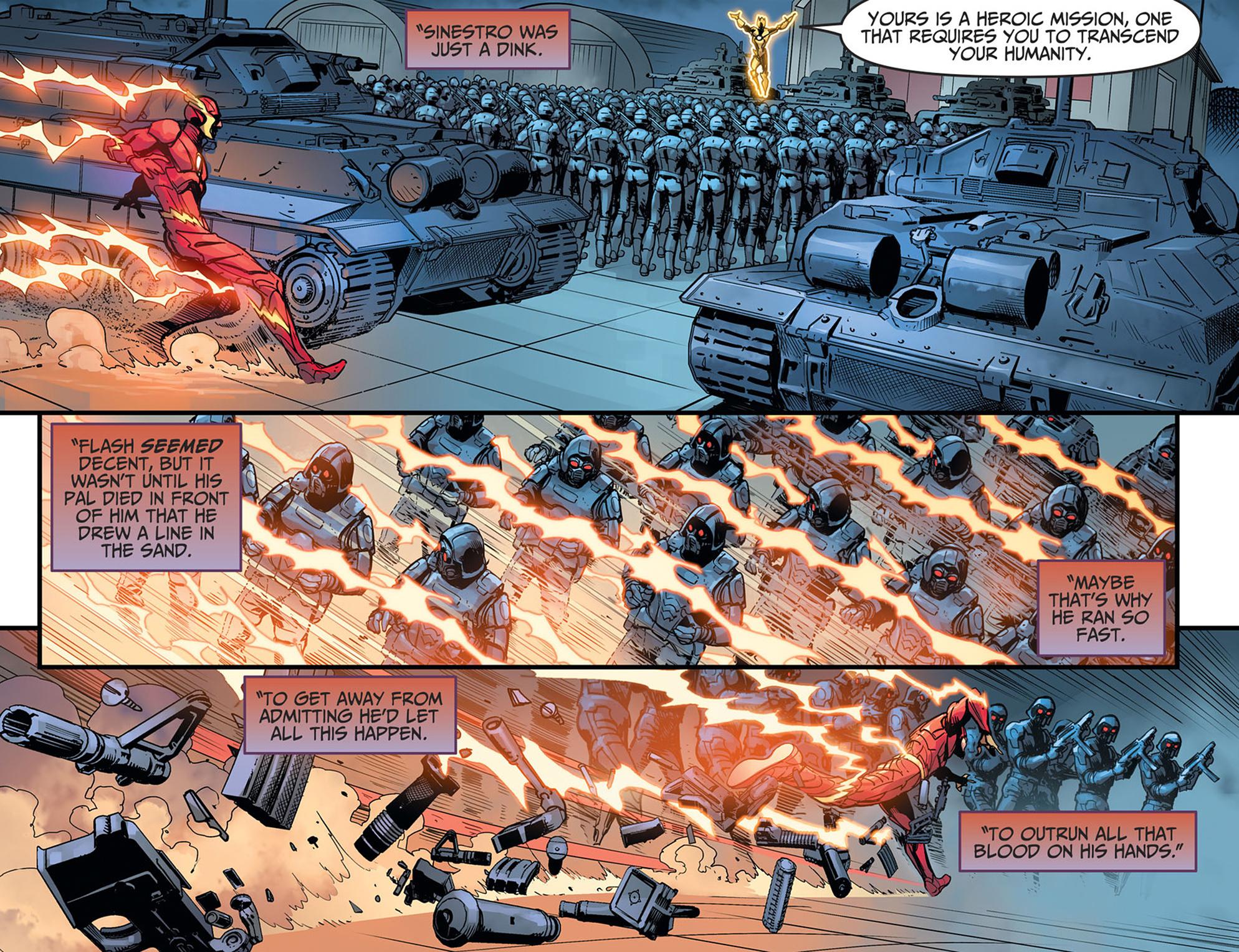 Read online Injustice: Ground Zero comic -  Issue #21 - 9