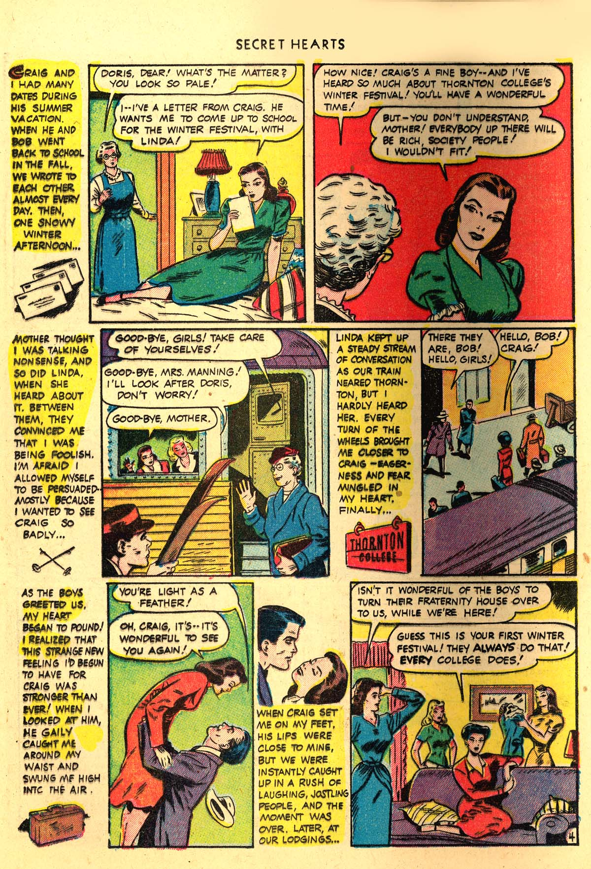 Read online Secret Hearts comic -  Issue #4 - 24