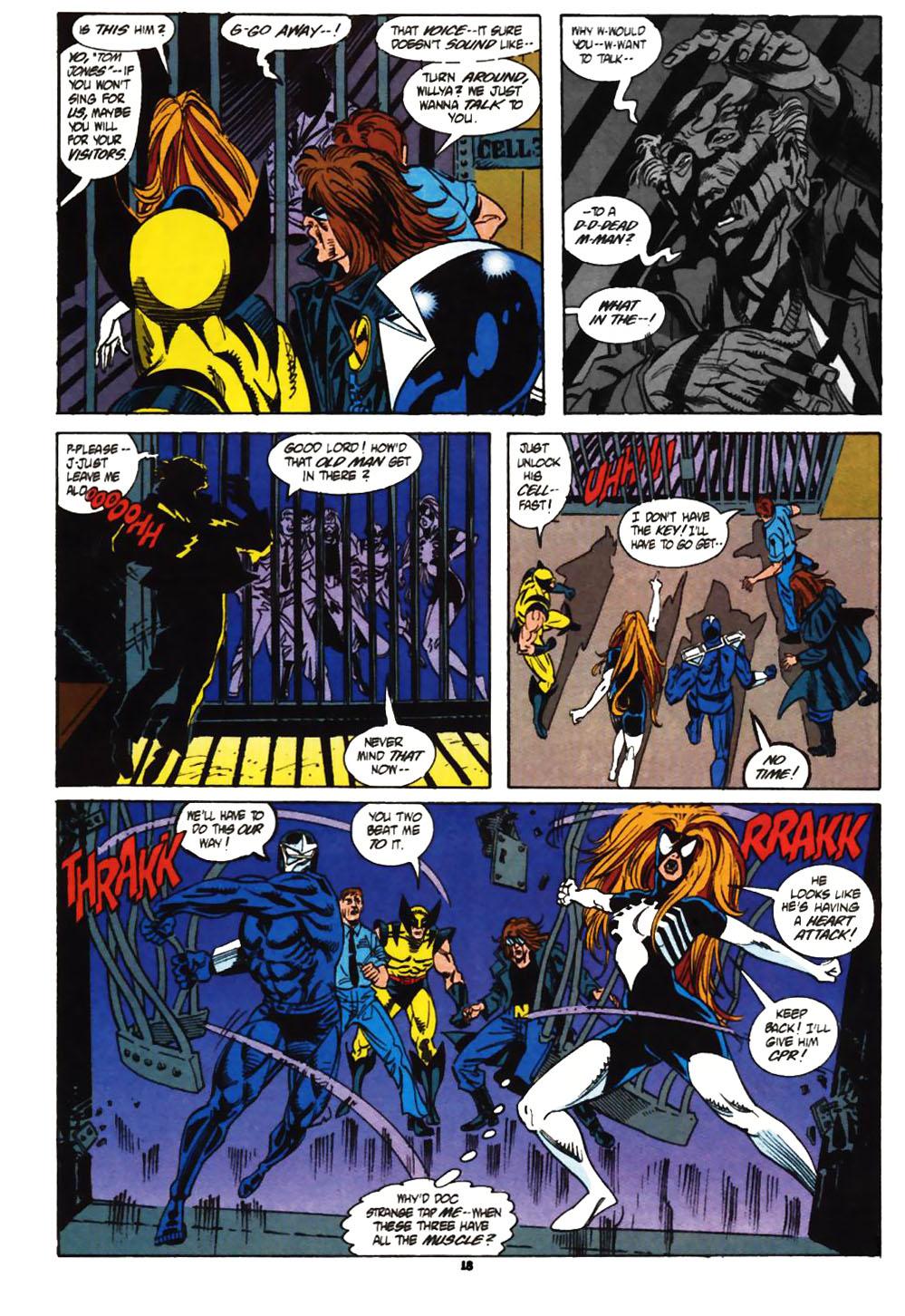 Read online Secret Defenders comic -  Issue #1 - 15