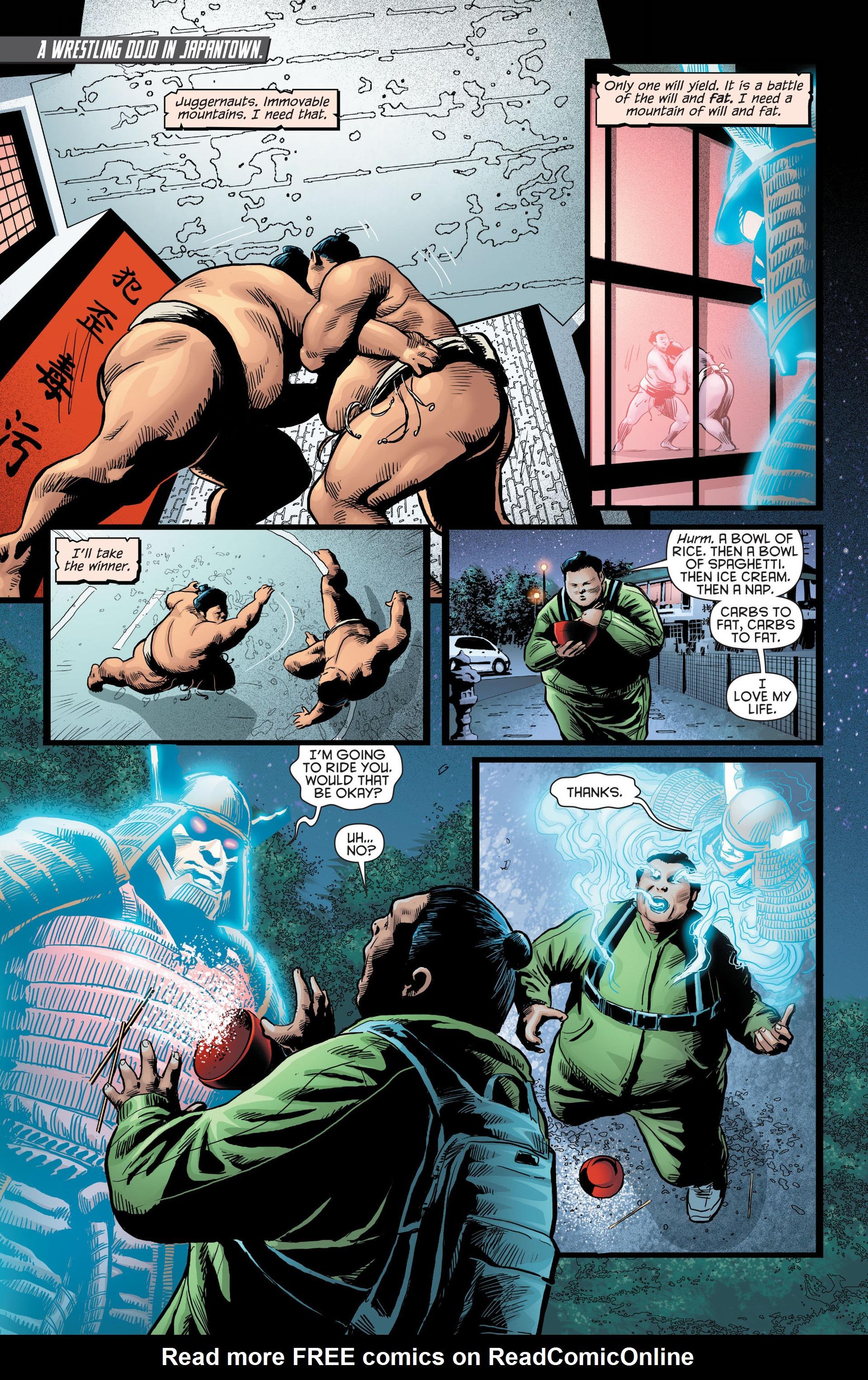 Read online Katana comic -  Issue #8 - 18