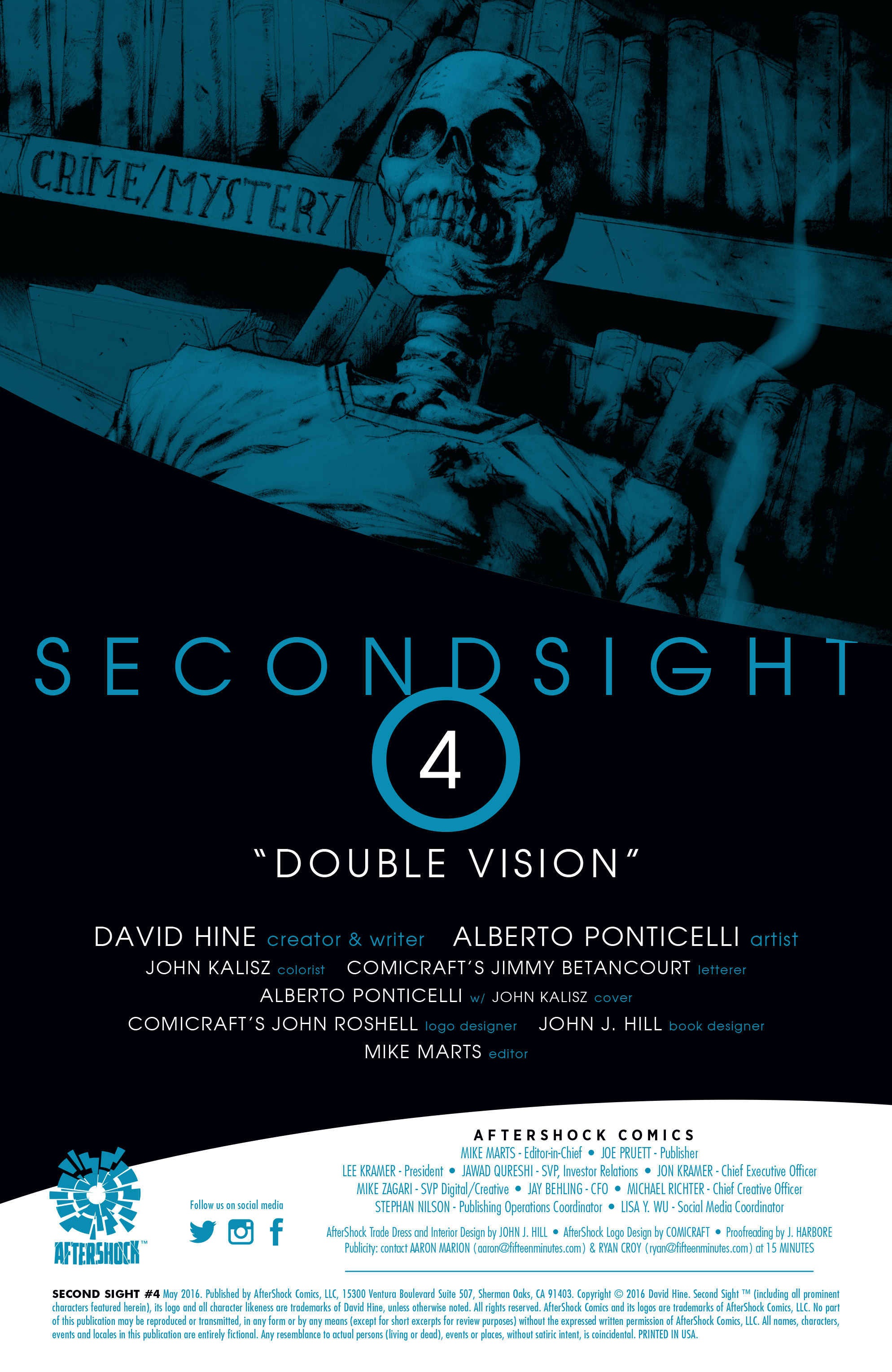Read online Second Sight comic -  Issue #4 - 2