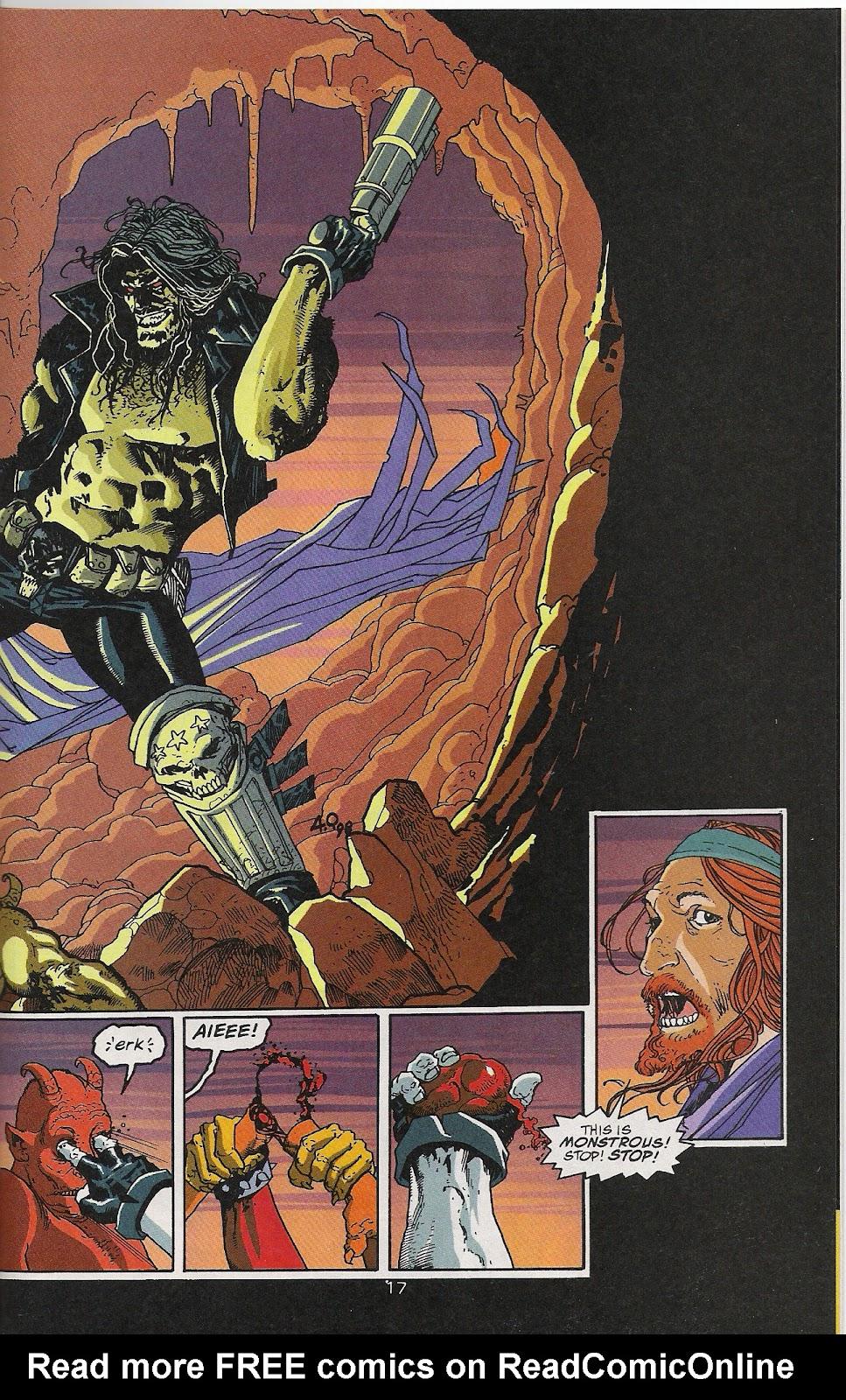 Lobo (1993) Issue #64 #69 - English 18