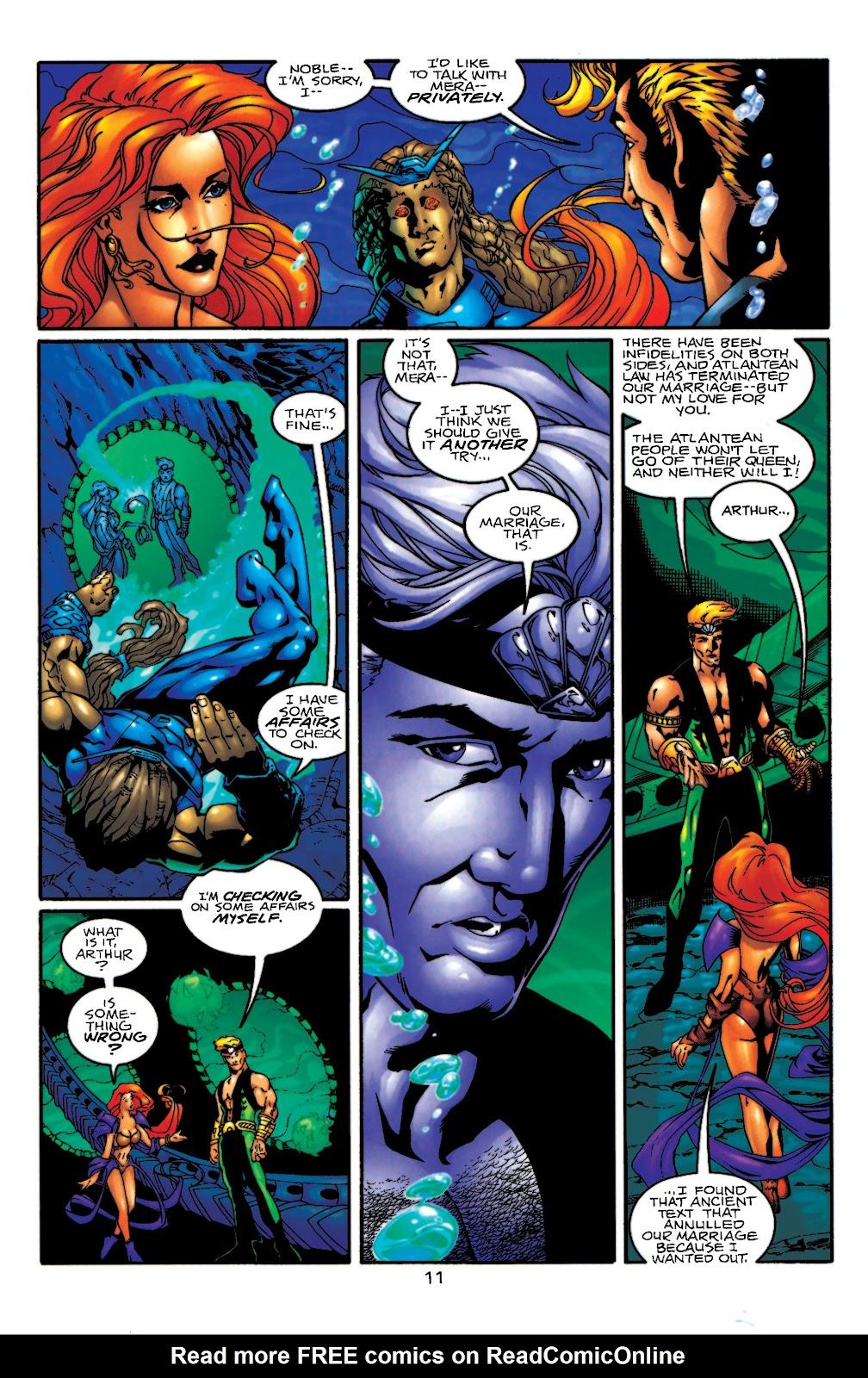 Aquaman (1994) Issue #55 #61 - English 12