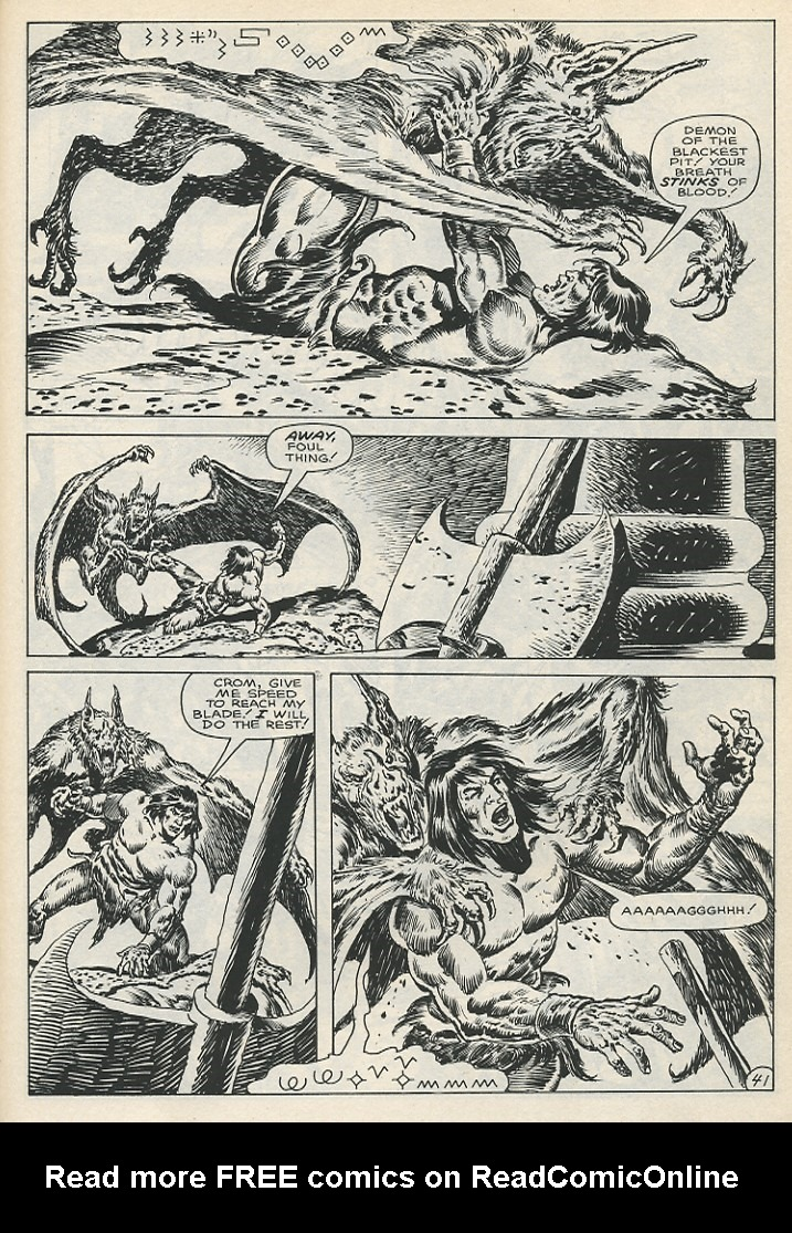 The Savage Sword Of Conan Issue #141 #142 - English 47