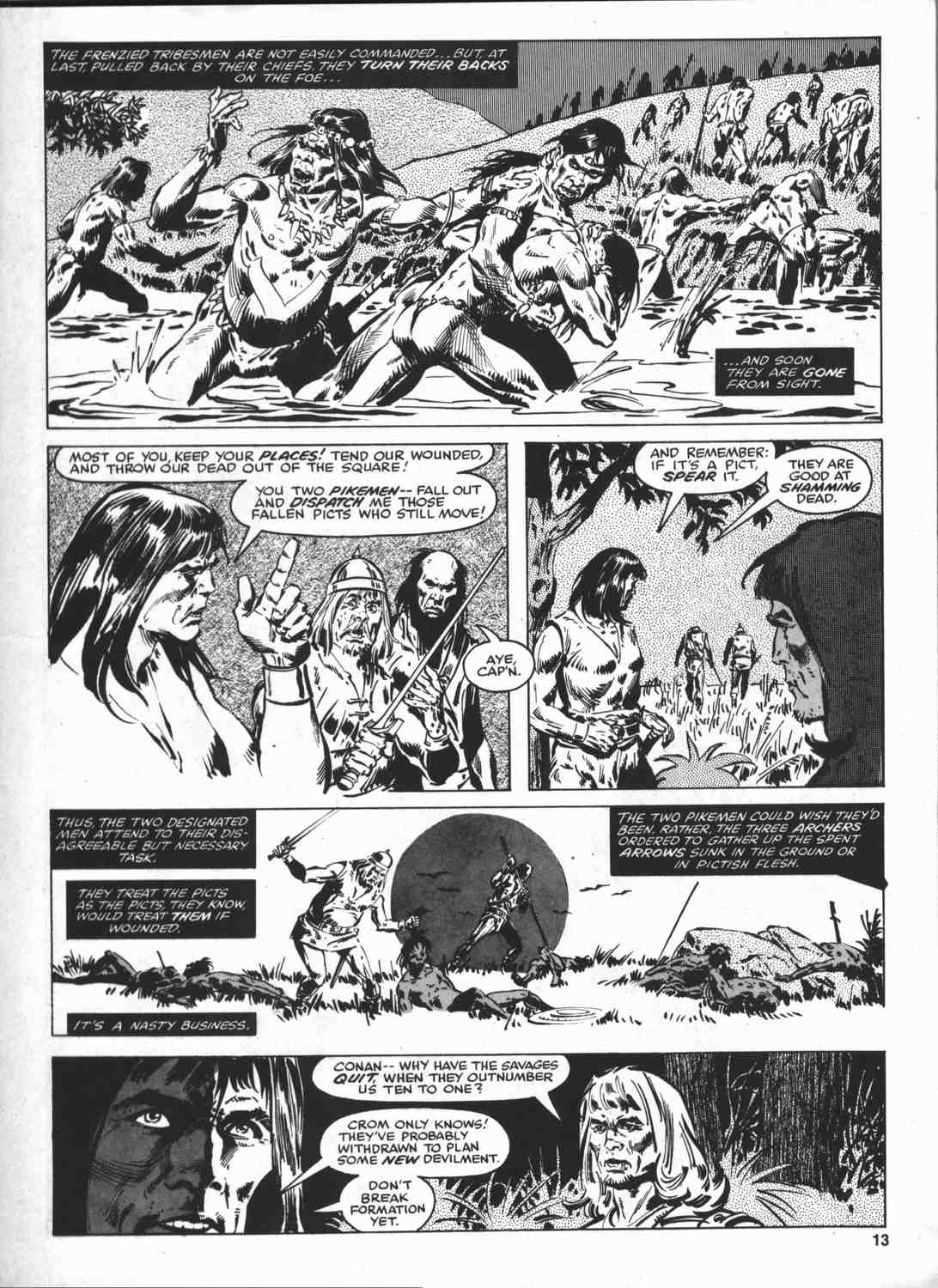 The Savage Sword Of Conan Issue #46 #47 - English 12