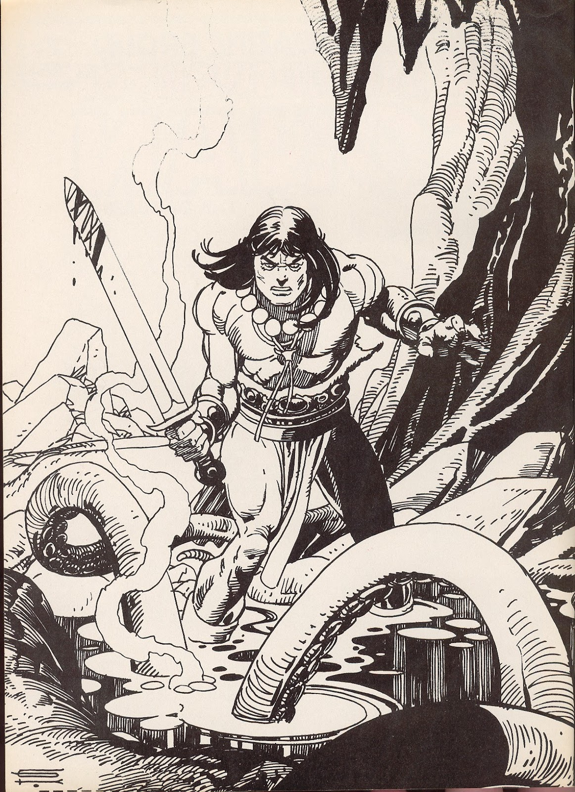 The Savage Sword Of Conan Issue #70 #71 - English 2