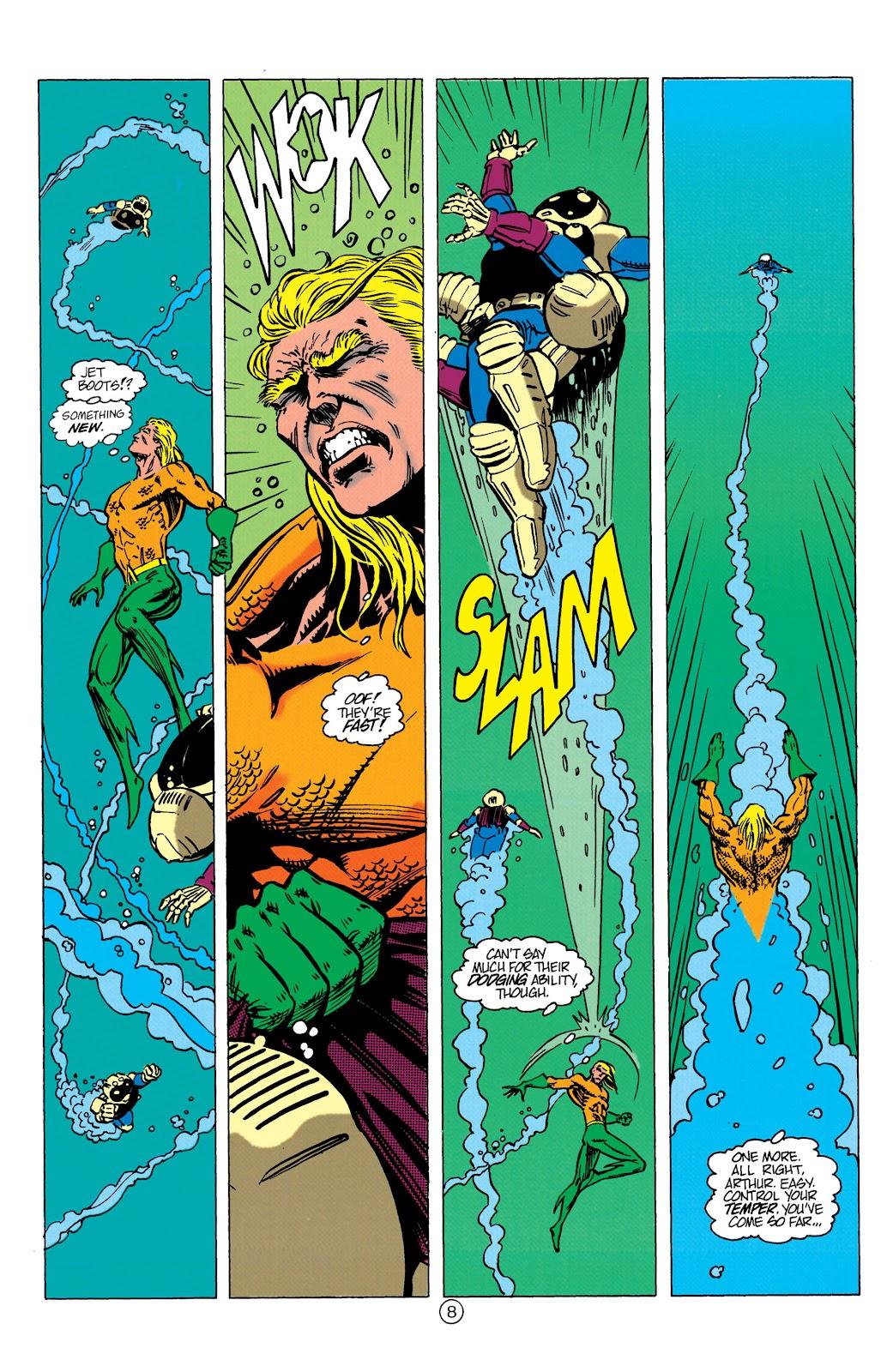 Aquaman (1991) Issue #10 #10 - English 9