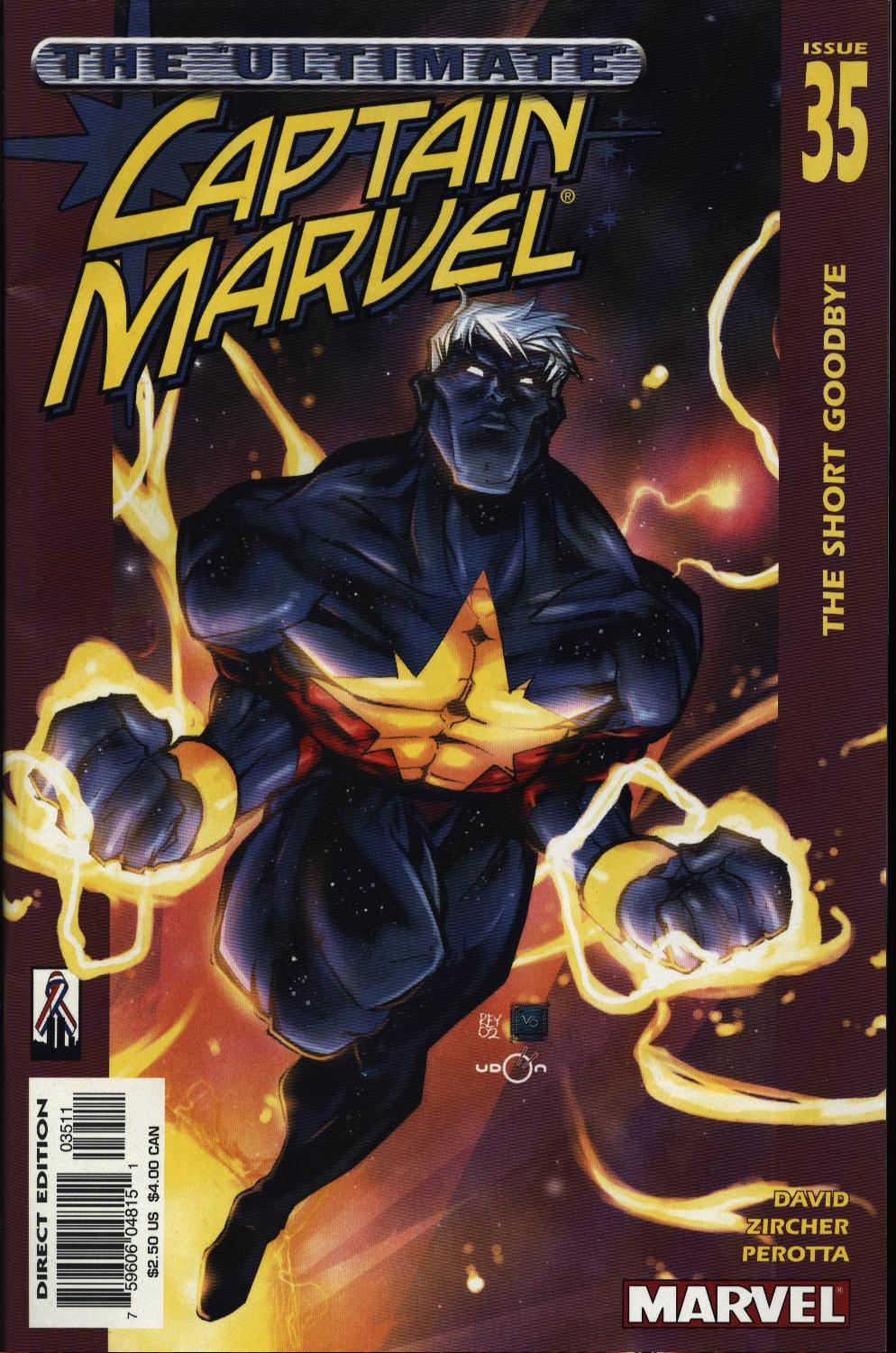 Captain Marvel (1999) 35 Page 1