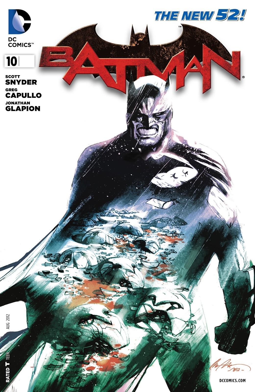 Batman (2011) Issue #10 #25 - English 31