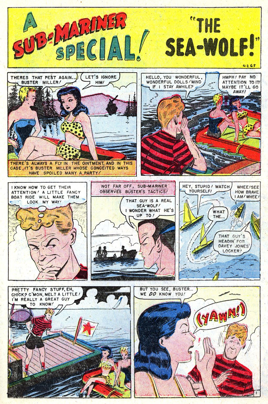 Sub-Mariner Comics #31 #31 - English 16