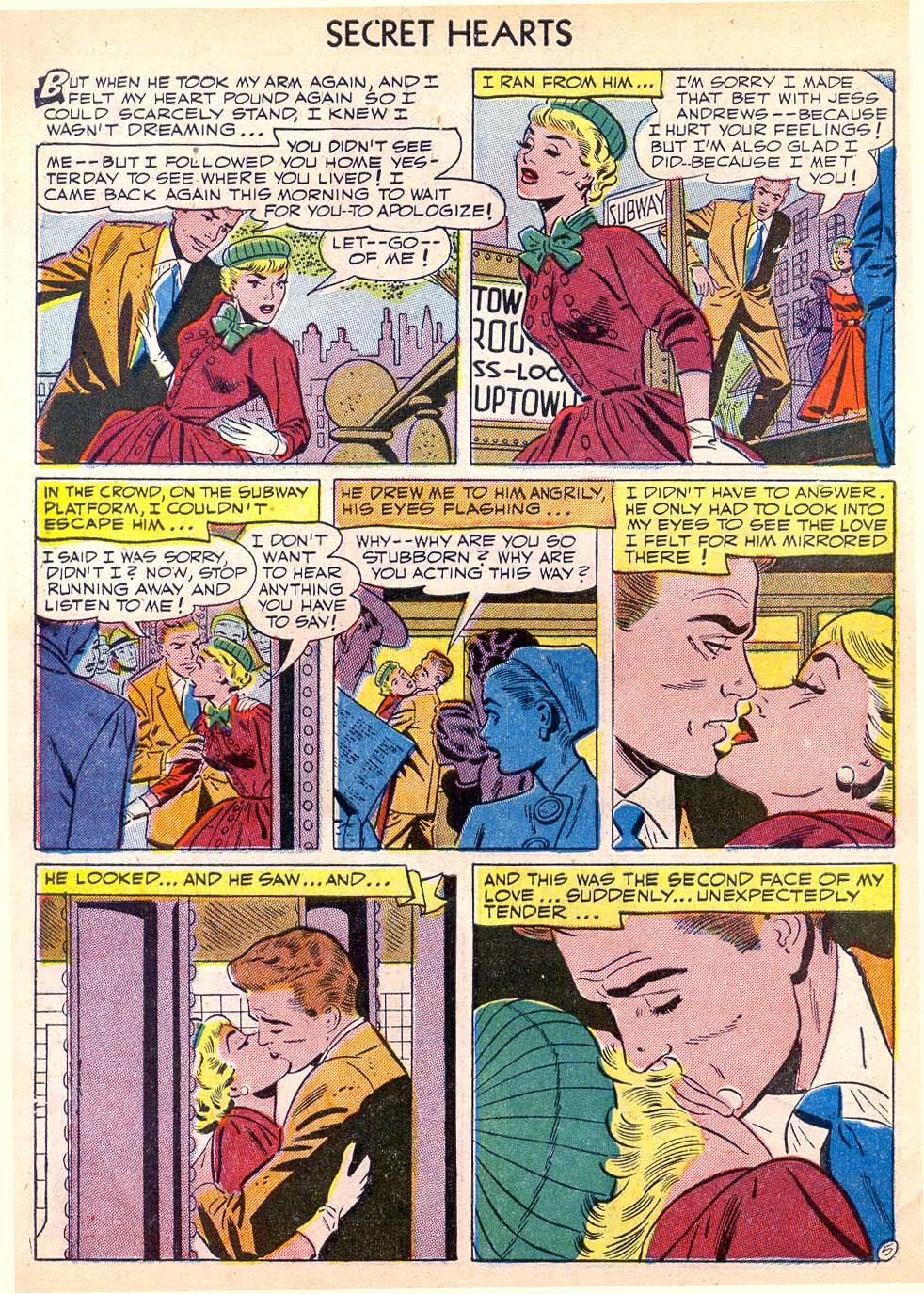 Read online Secret Hearts comic -  Issue #11 - 30