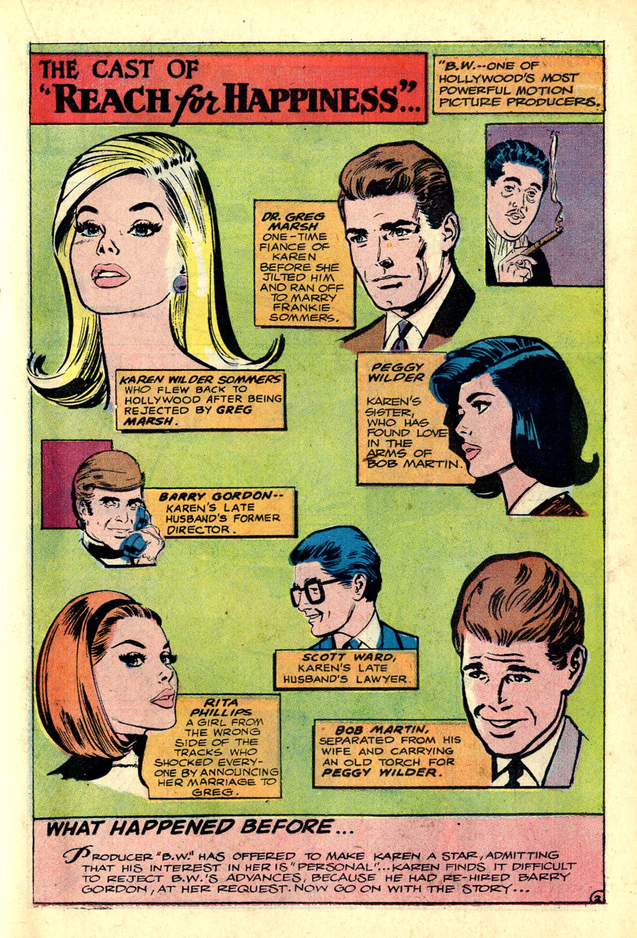 Read online Secret Hearts comic -  Issue #132 - 54