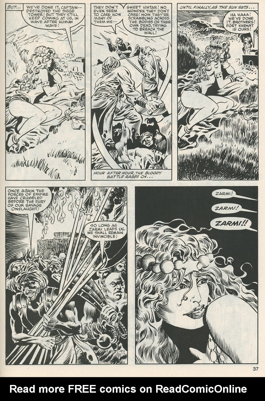 The Savage Sword Of Conan Issue #112 #113 - English 38