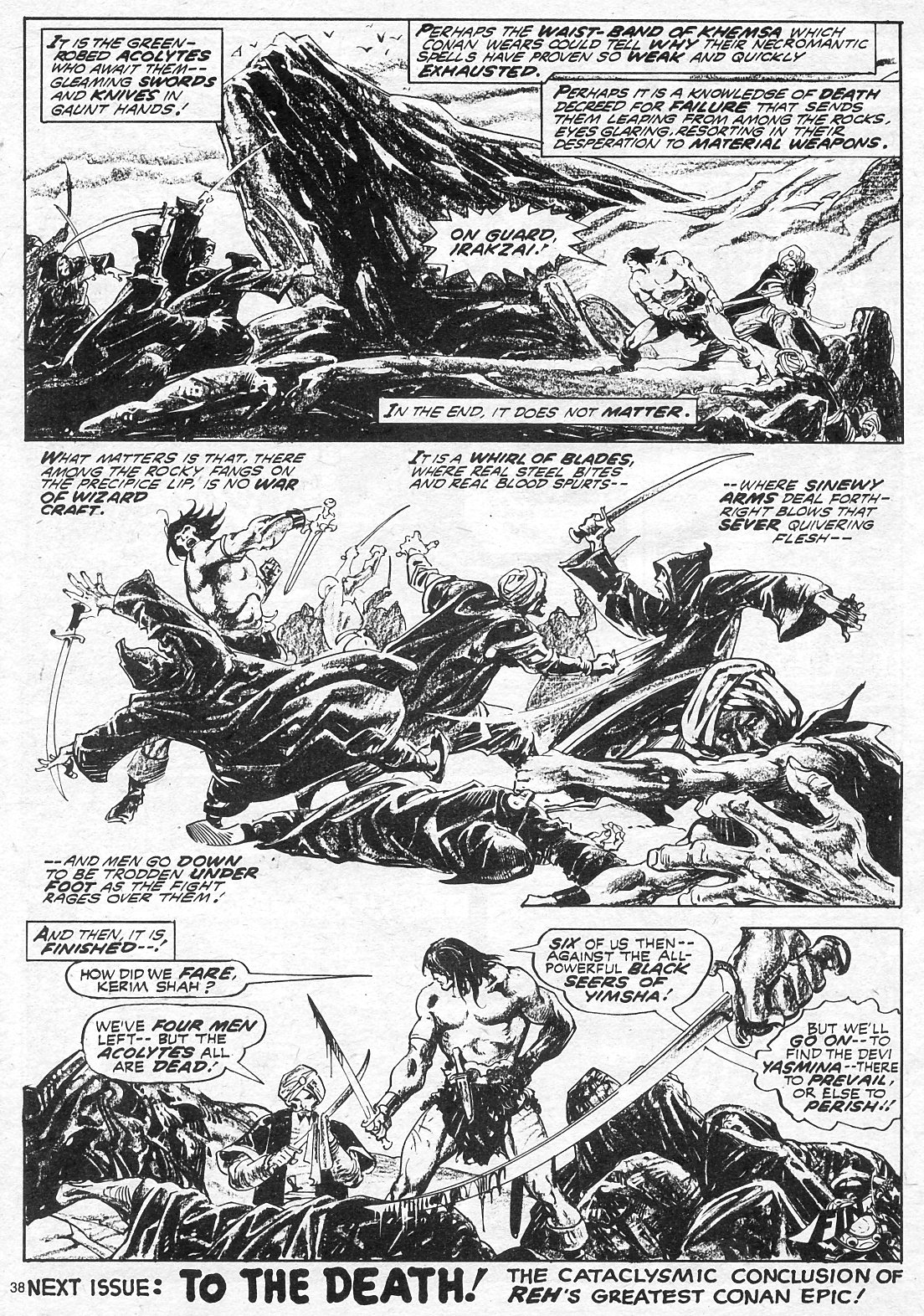 The Savage Sword Of Conan Issue #18 #19 - English 38