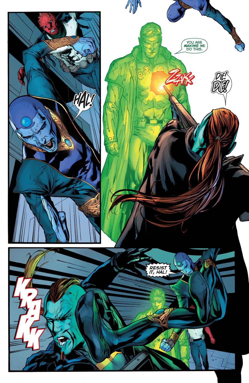 Green Lantern (2011) Issue #52 #61 - English 16