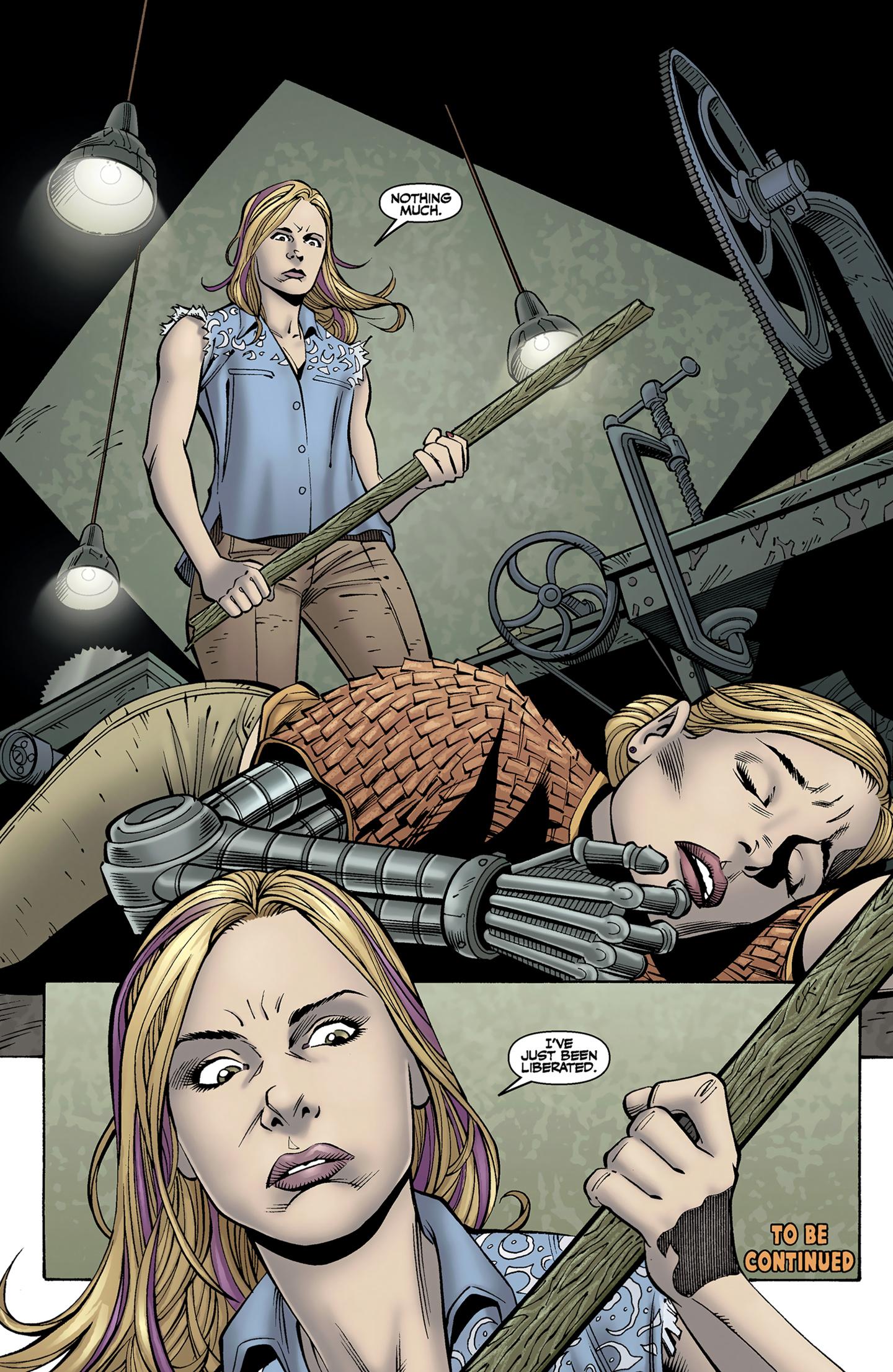 Read online Buffy the Vampire Slayer Season Nine comic -  Issue #9 - 25