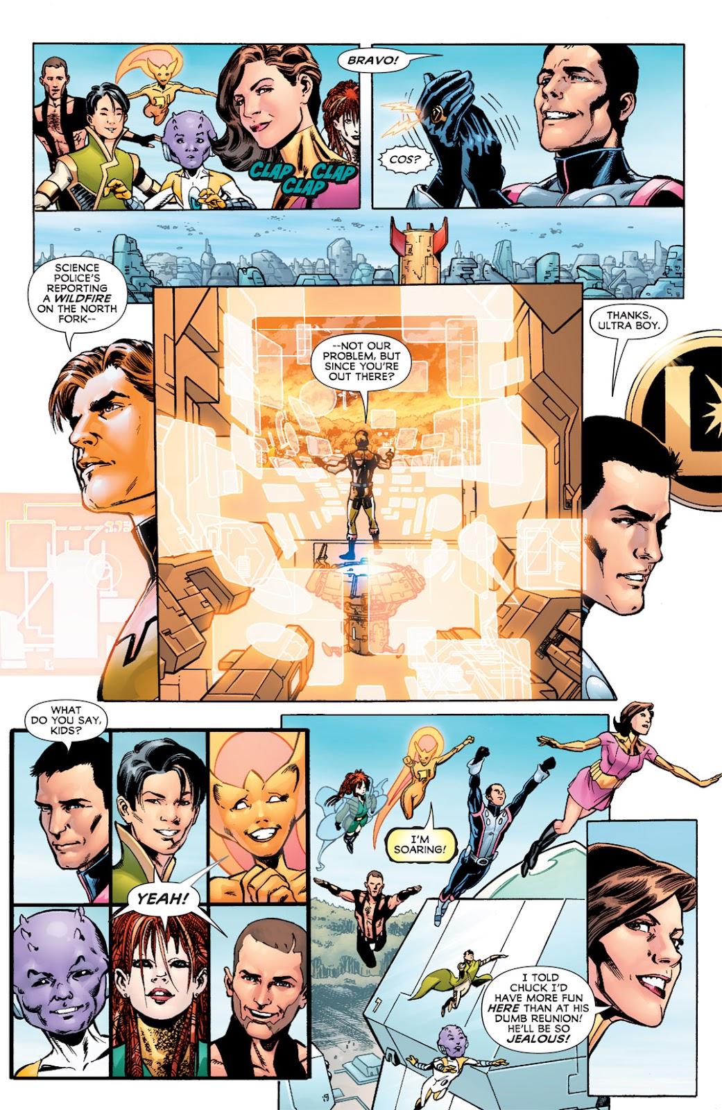 Legion of Super-Heroes (2010) Issue #6 #7 - English 20