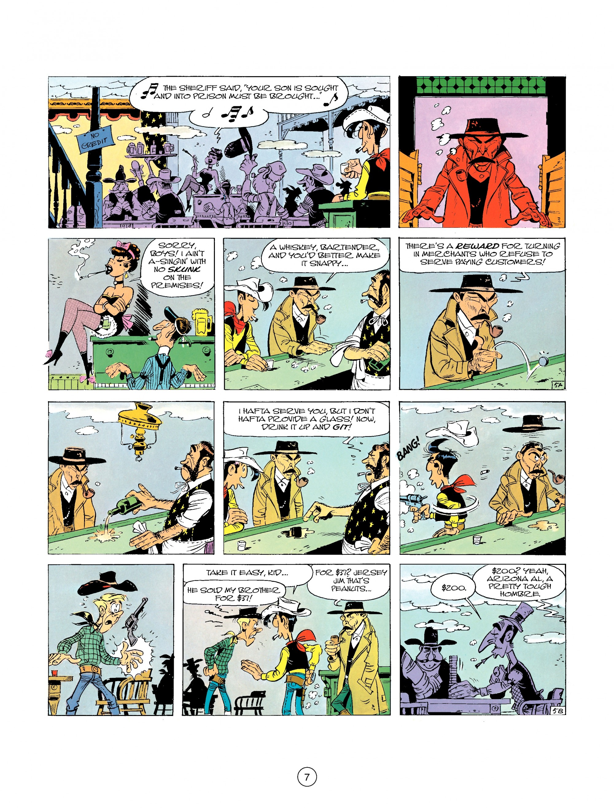 A Lucky Luke Adventure 26 Page 6