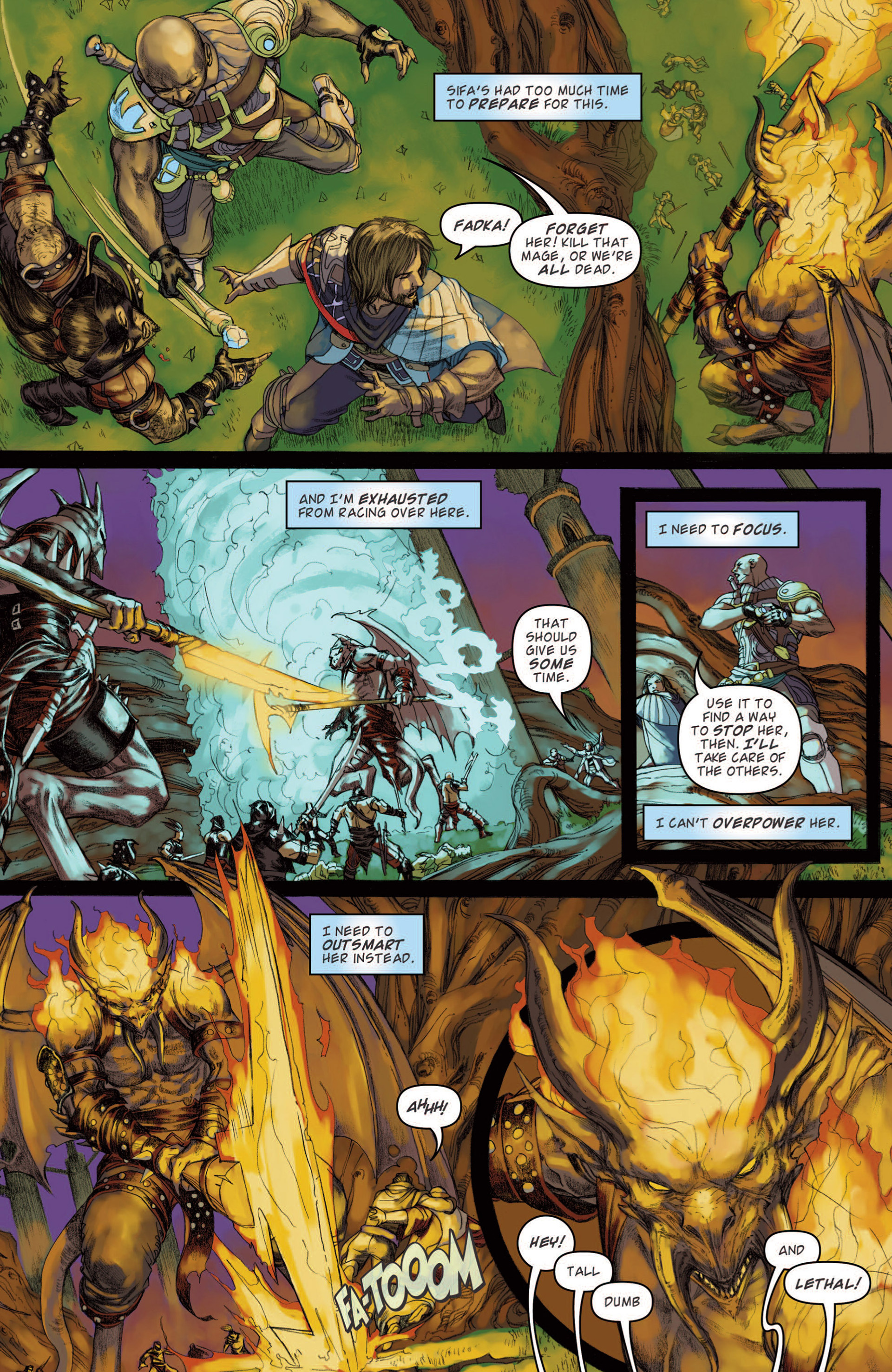 Read online Magic: The Gathering--Path of Vengeance comic -  Issue #4 - 12