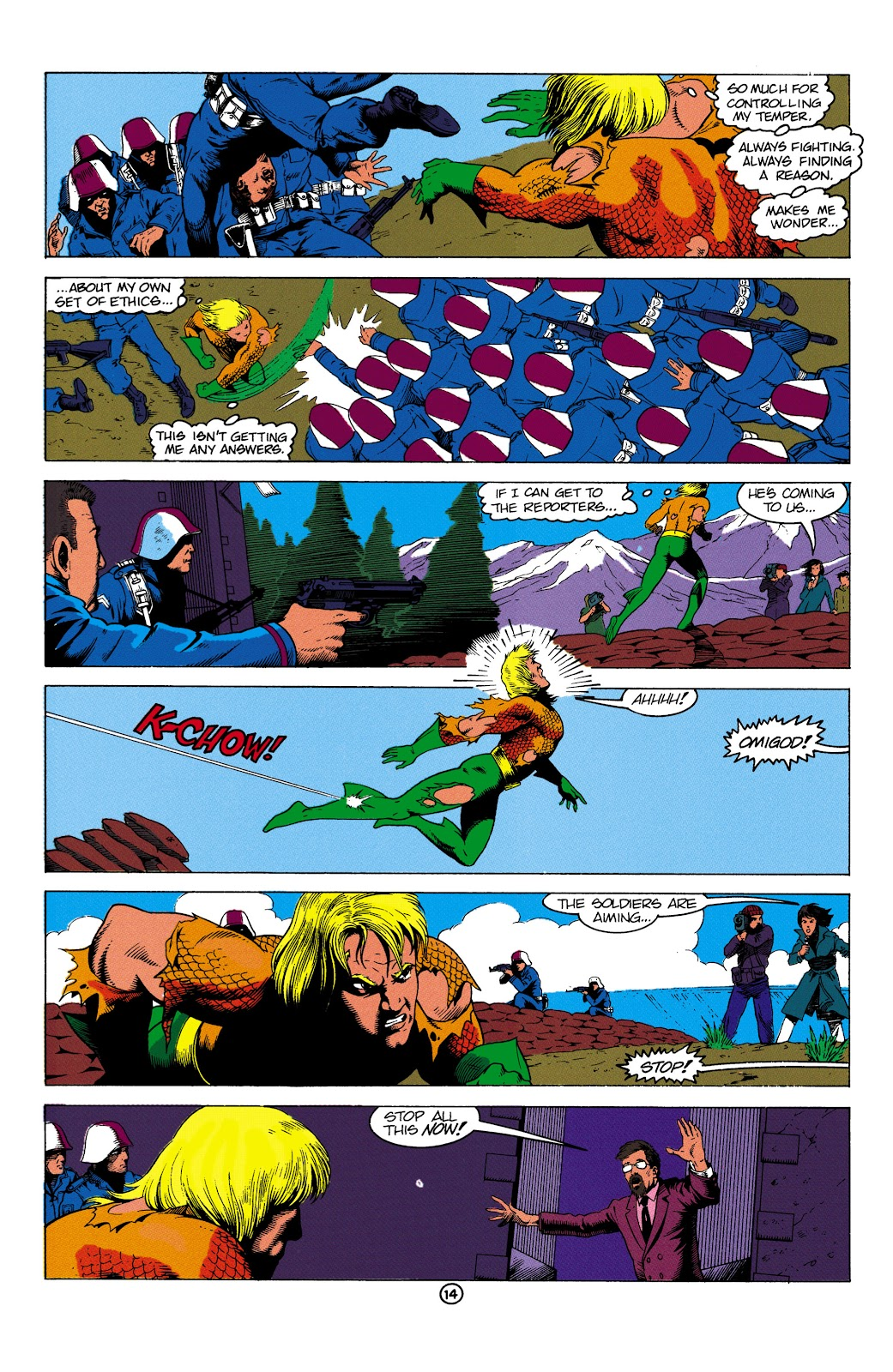 Aquaman (1991) Issue #2 #2 - English 15