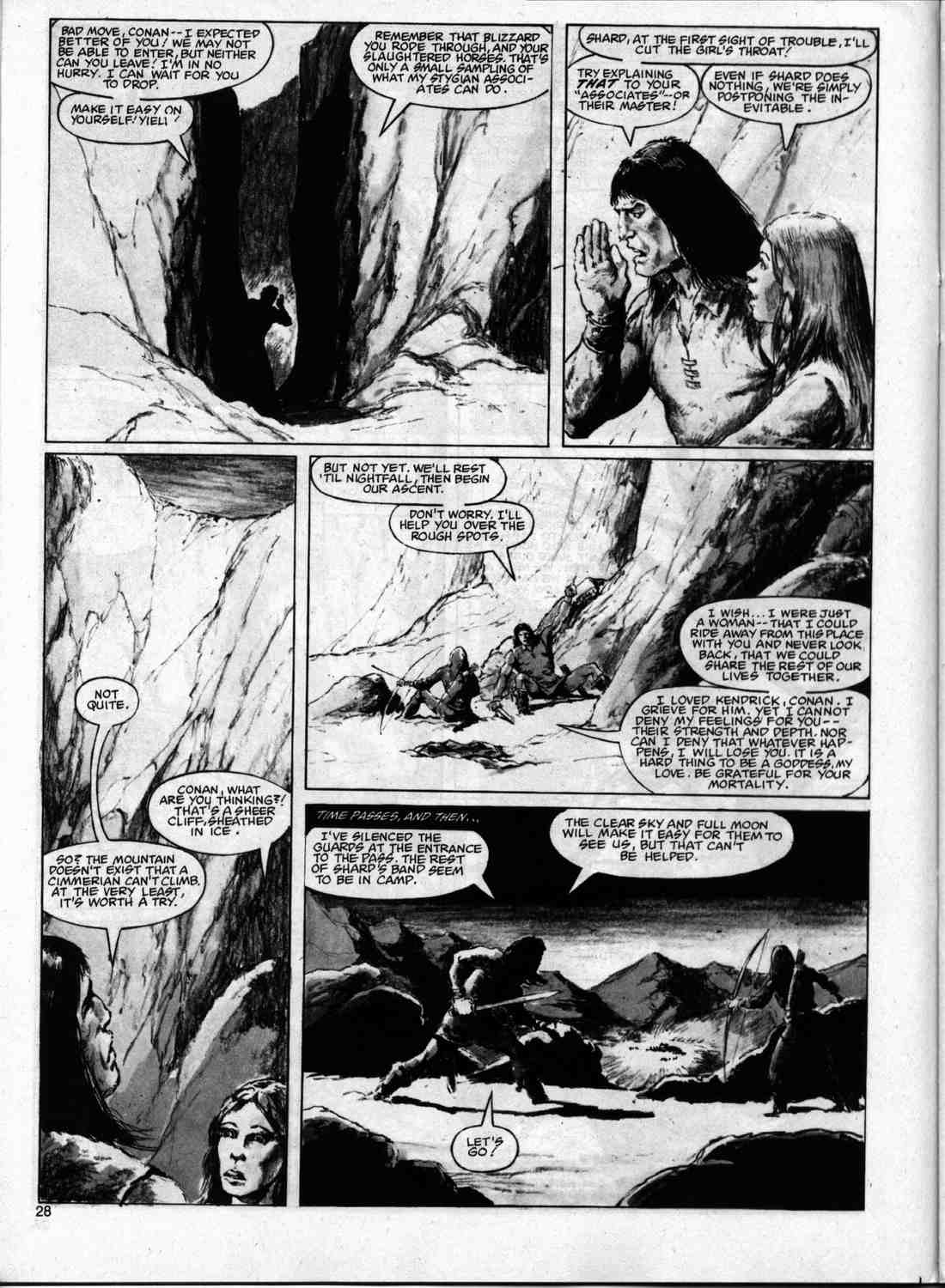 The Savage Sword Of Conan Issue #74 #75 - English 27