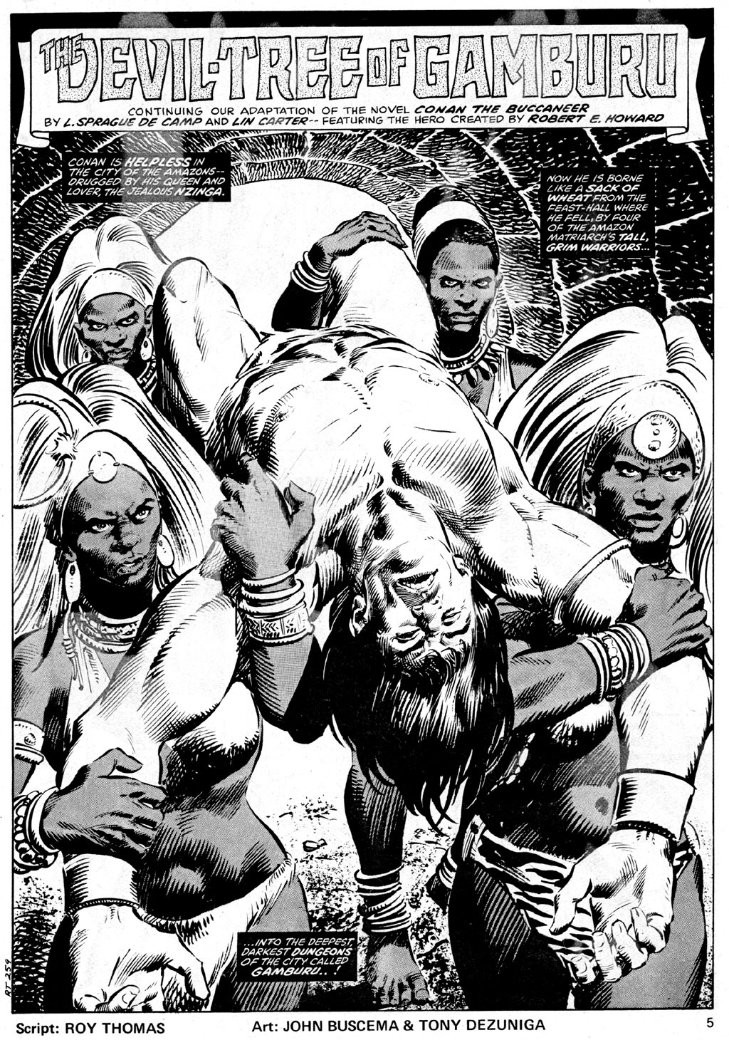 The Savage Sword Of Conan Issue #42 #43 - English 5