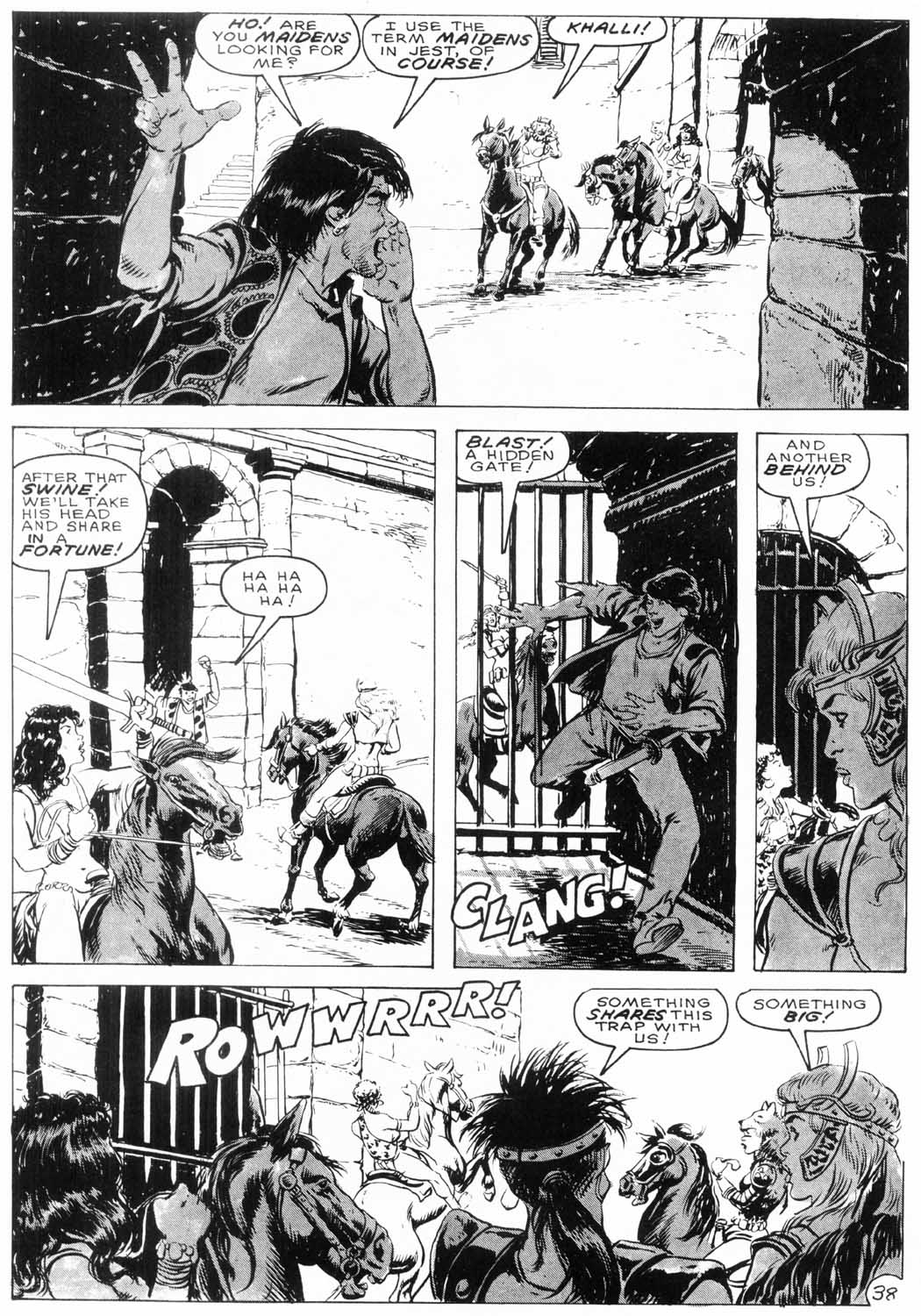 The Savage Sword Of Conan Issue #154 #155 - English 39
