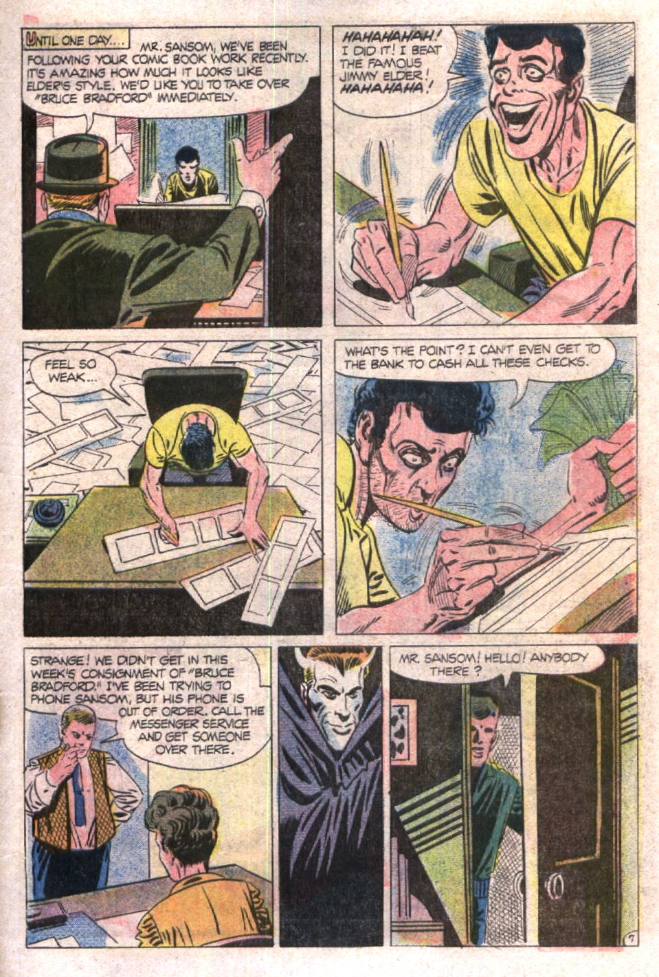 Read online Scary Tales comic -  Issue #19 - 31