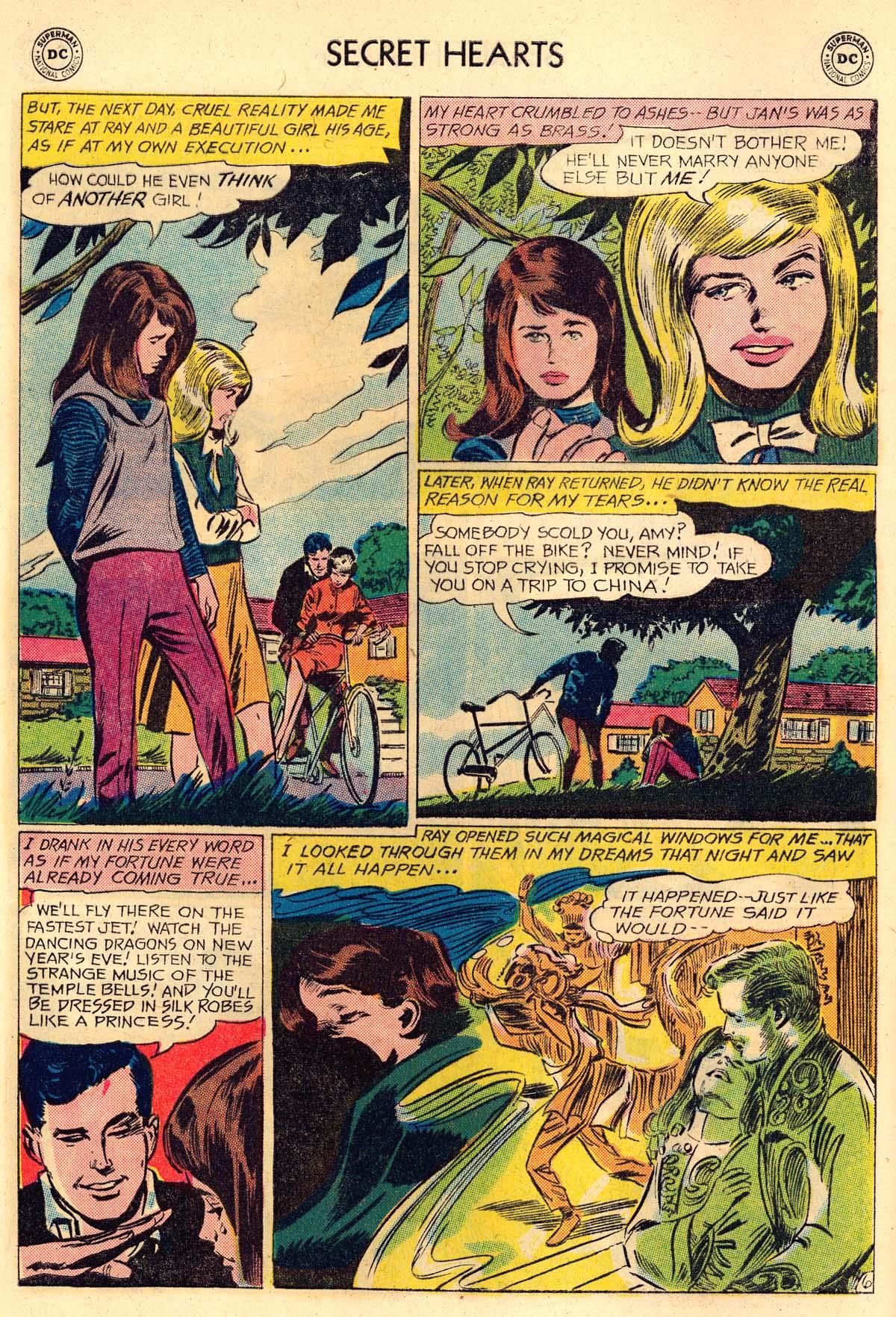 Read online Secret Hearts comic -  Issue #106 - 8