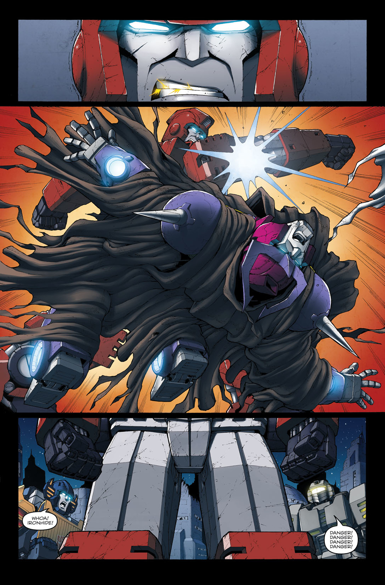 Read online The Transformers: Ironhide comic -  Issue #4 - 19