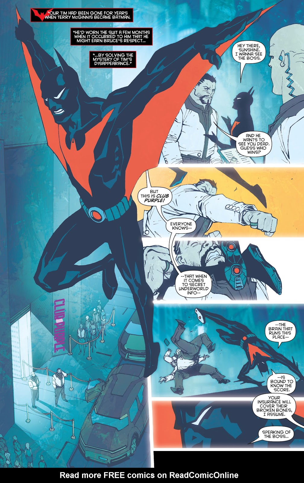 Batman Beyond (2015) Issue #13 #13 - English 9