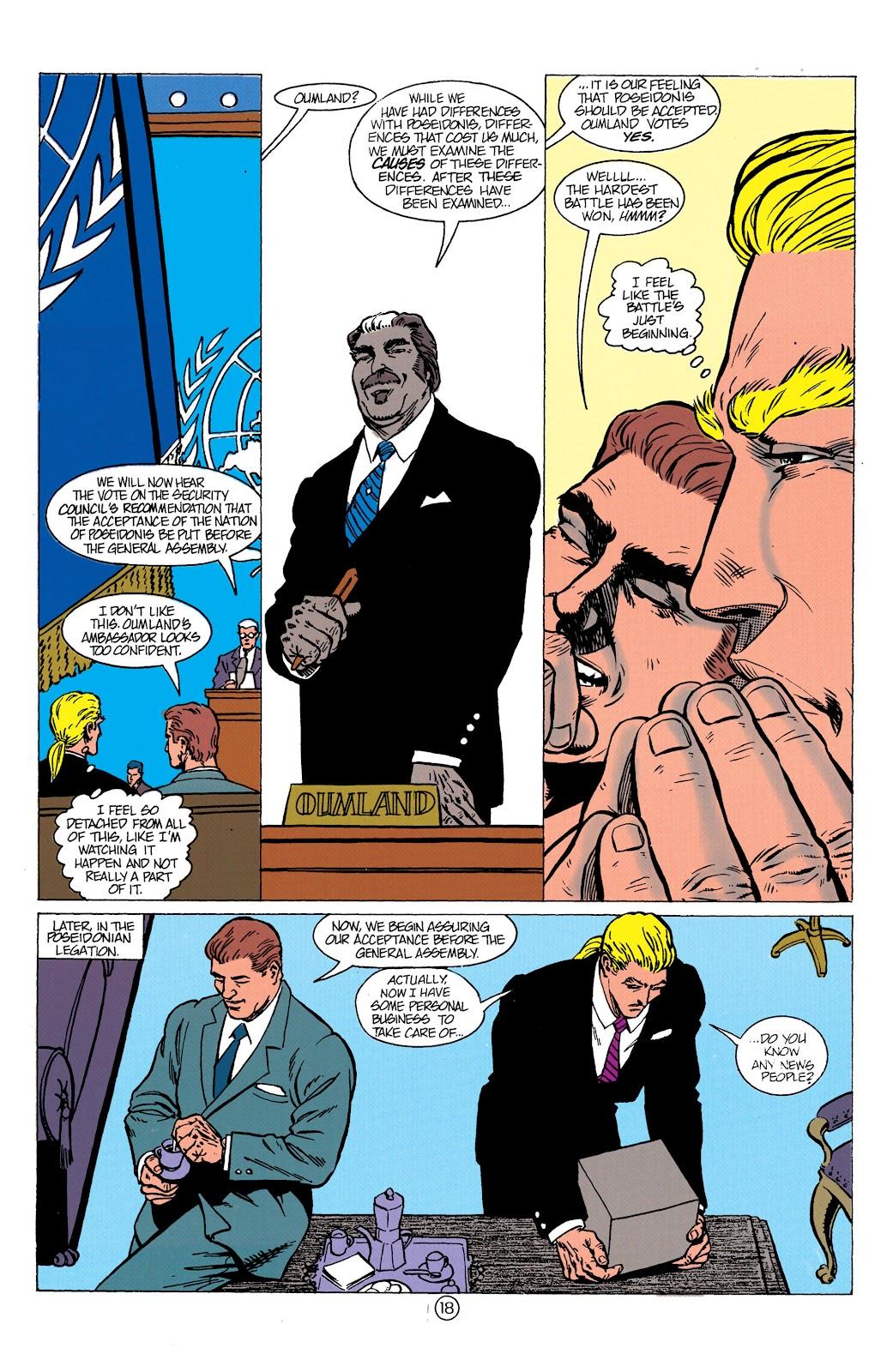 Aquaman (1991) Issue #10 #10 - English 19