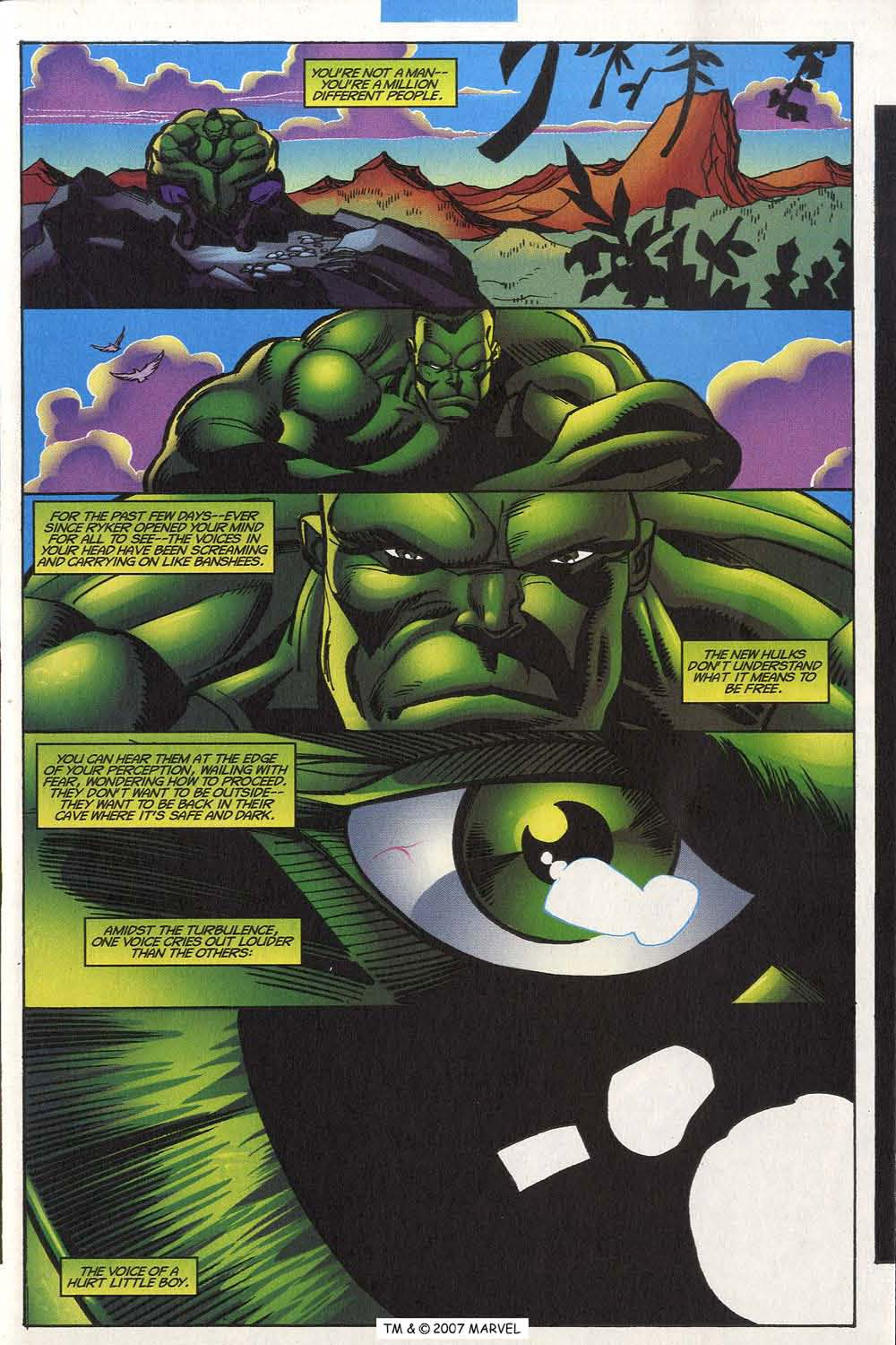 Read online The Incredible Hulk (2000) comic -  Issue #20 - 35