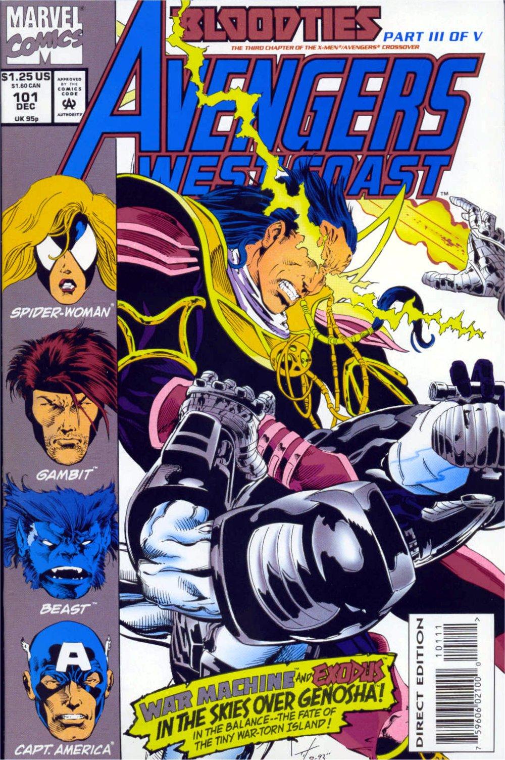 Avengers West Coast (1989) 101 Page 1
