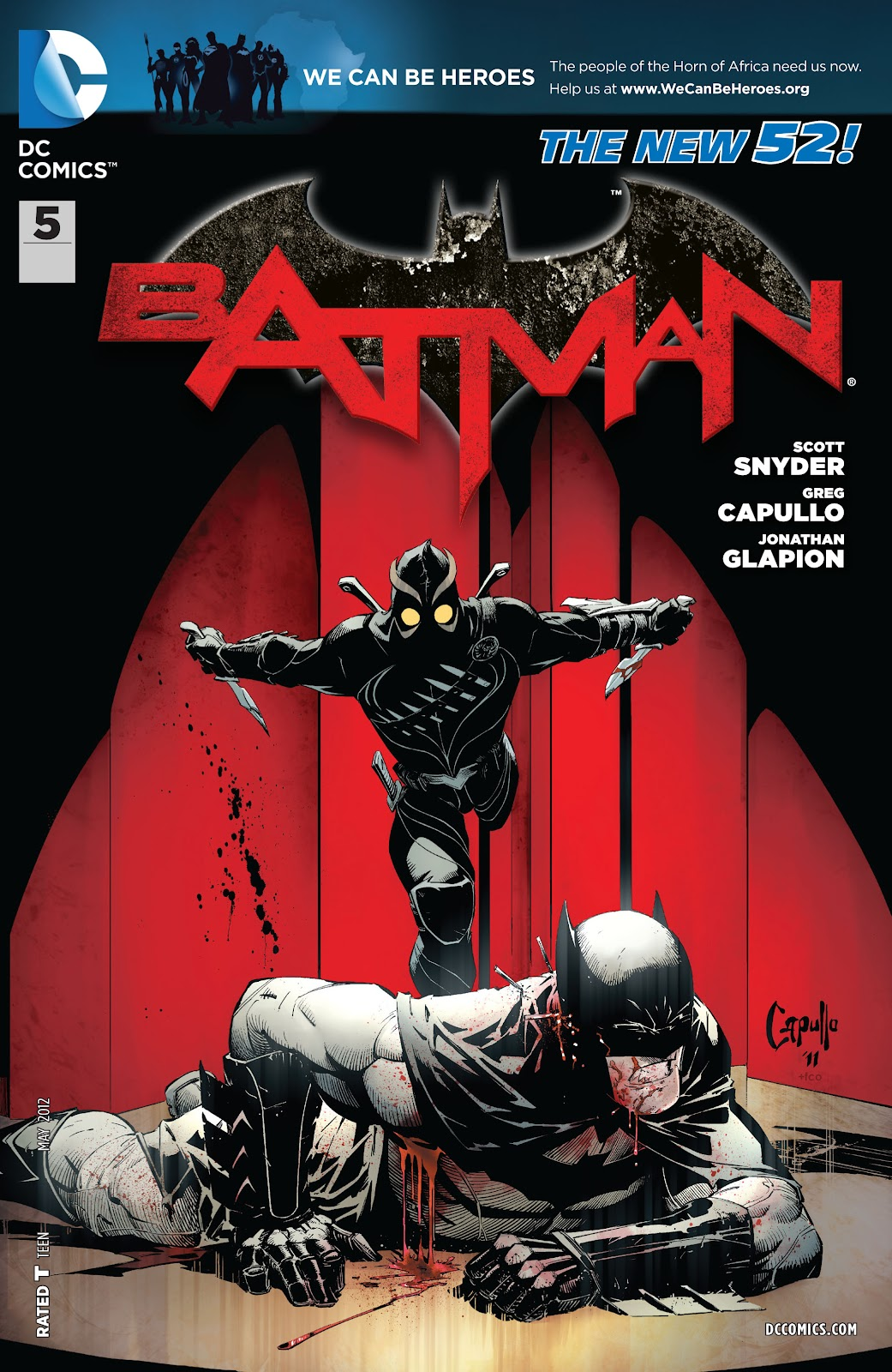 Batman (2011) Issue #5 #20 - English 22